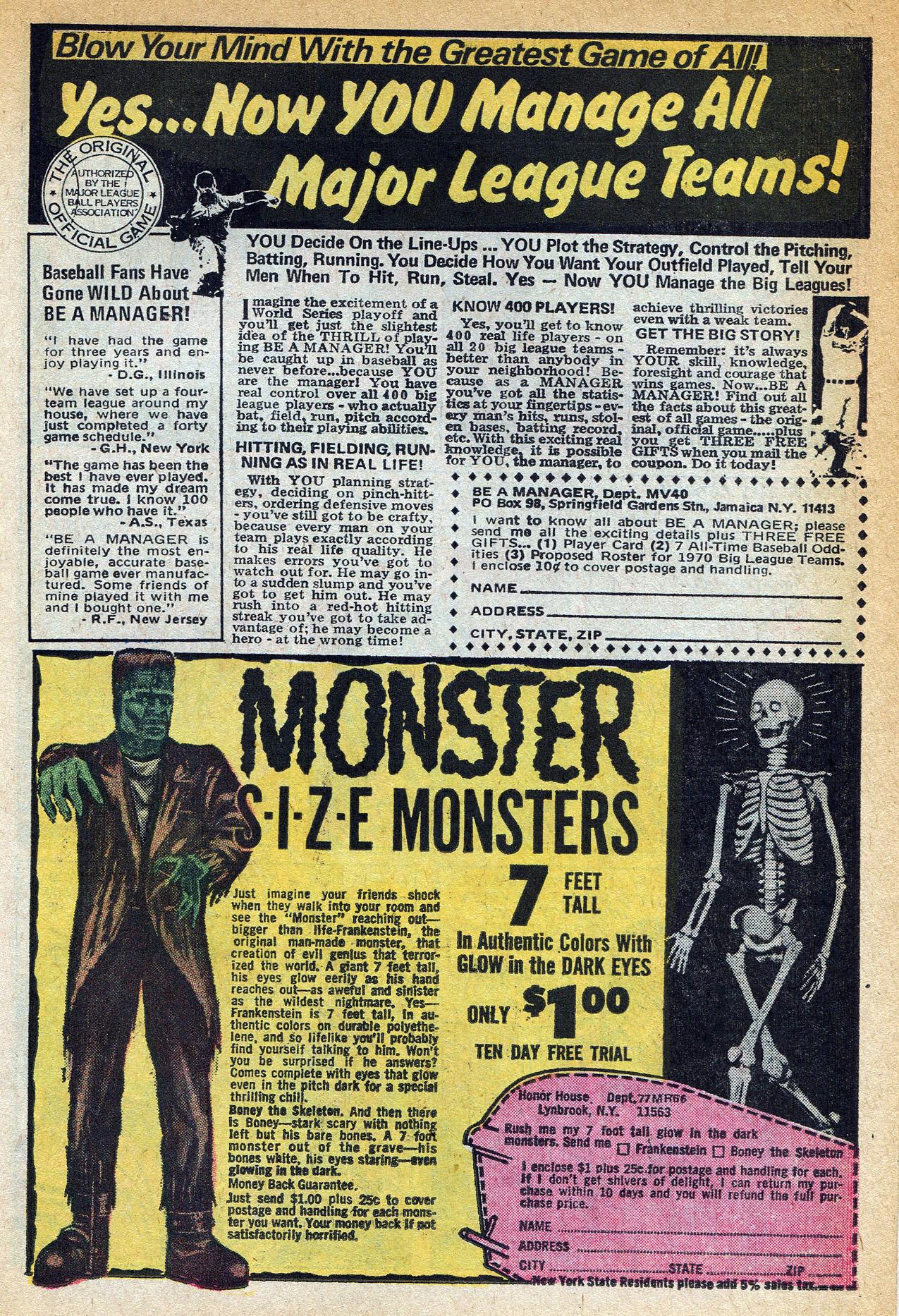 Read online Amazing Adventures (1970) comic -  Issue #1 - 11
