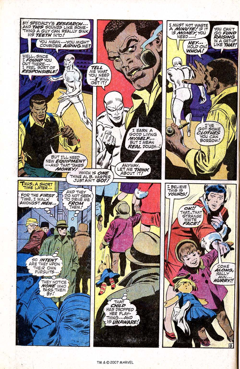 Silver Surfer (1968) issue 5 - Page 10