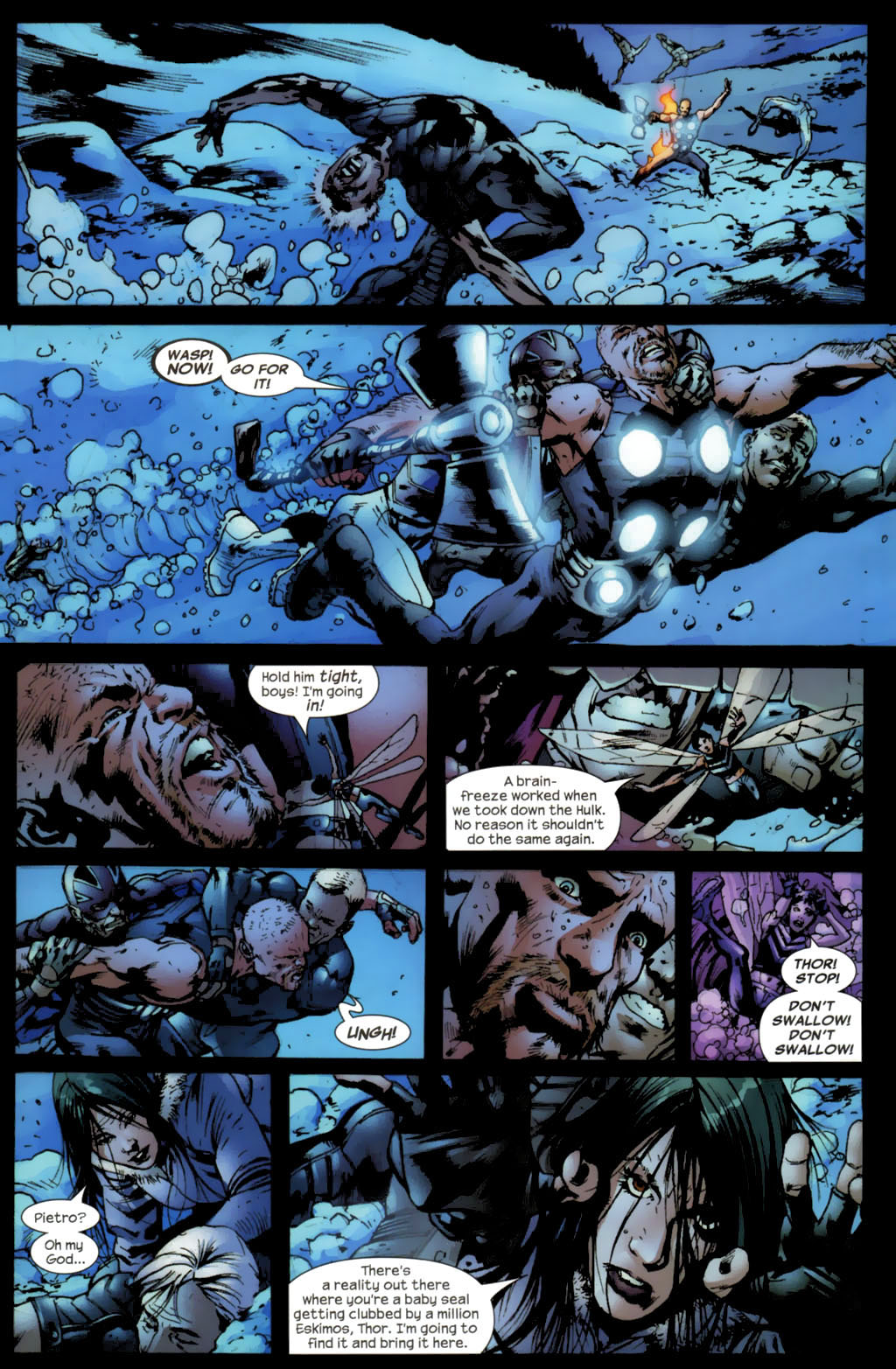 Read online Ultimates 2 comic -  Issue #5 - 6