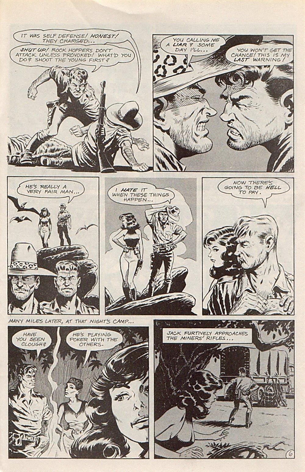 Read online Xenozoic Tales comic -  Issue #1 - 30