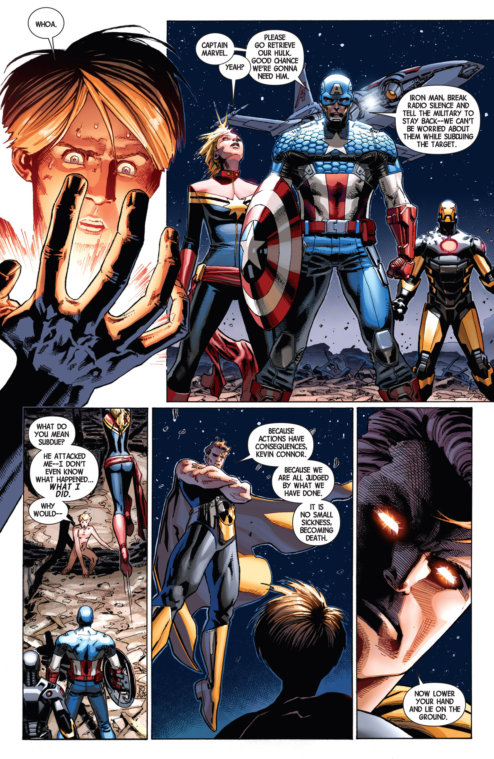 Read online Avengers (2013) comic -  Issue #8 - 11