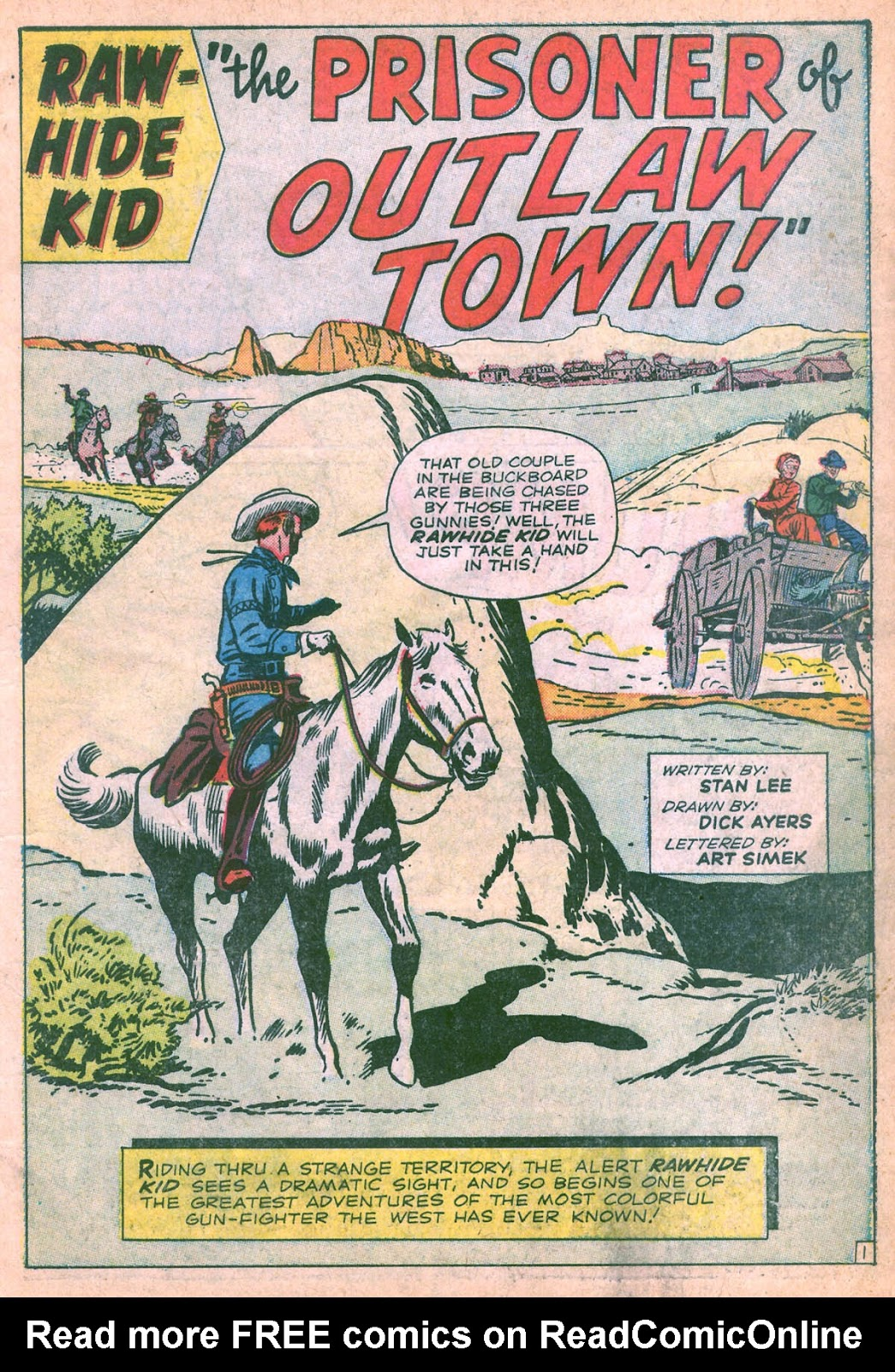 The Rawhide Kid (1955) issue 36 - Page 3