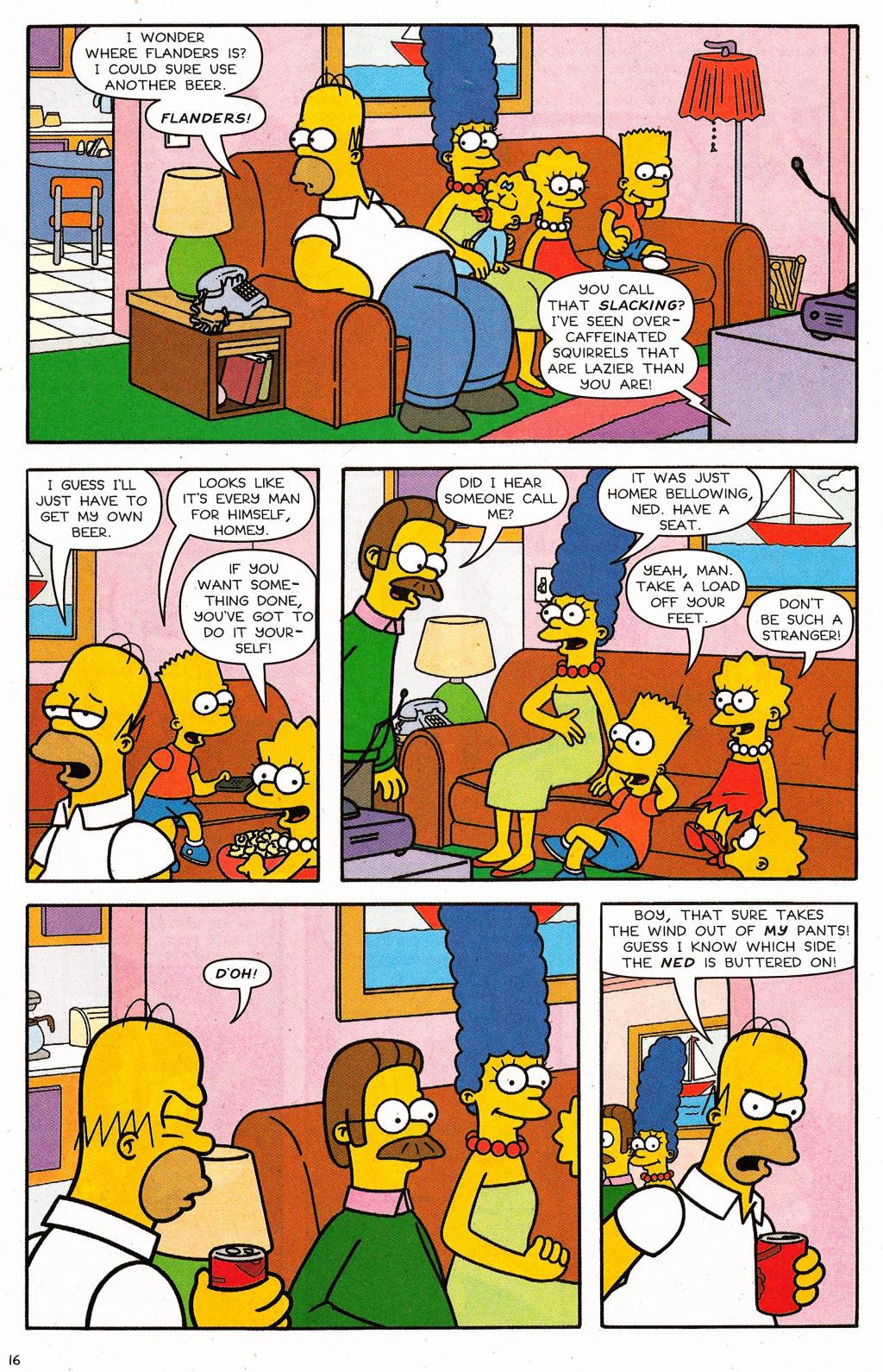 Read online Simpsons Comics comic -  Issue #124 - 13