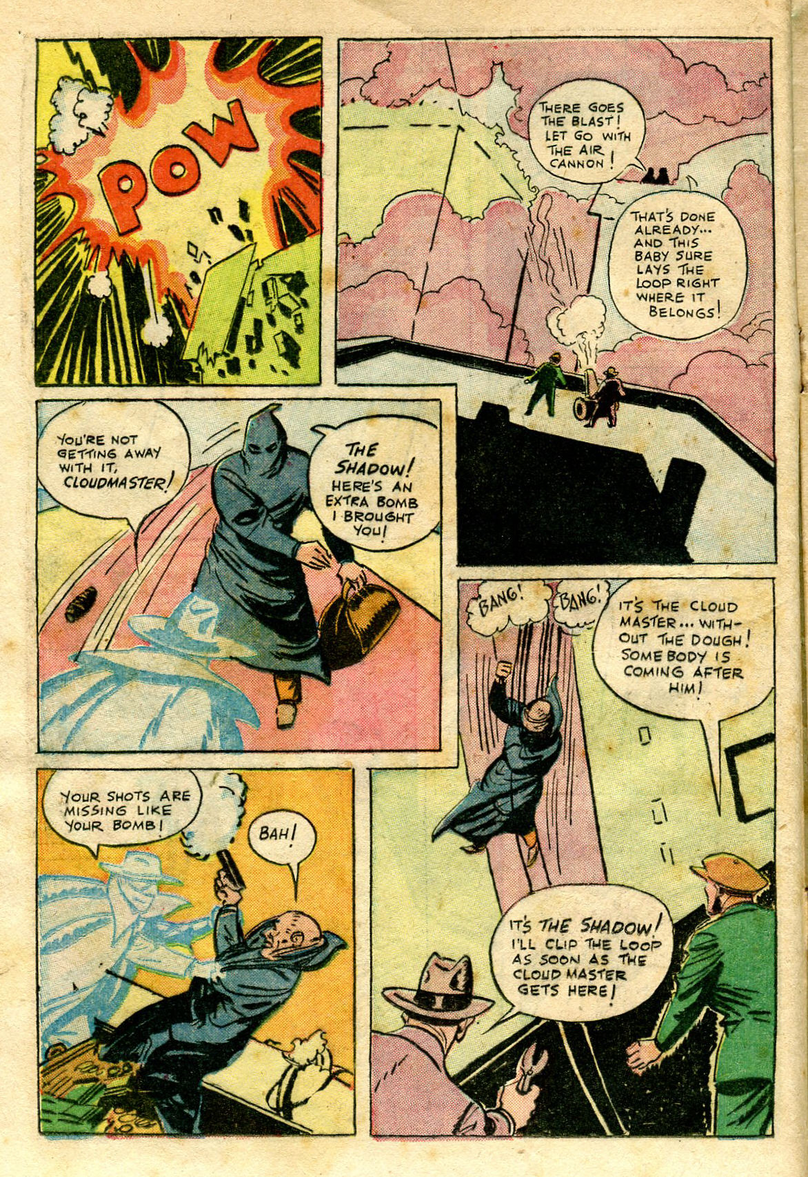 Read online Shadow Comics comic -  Issue #65 - 18