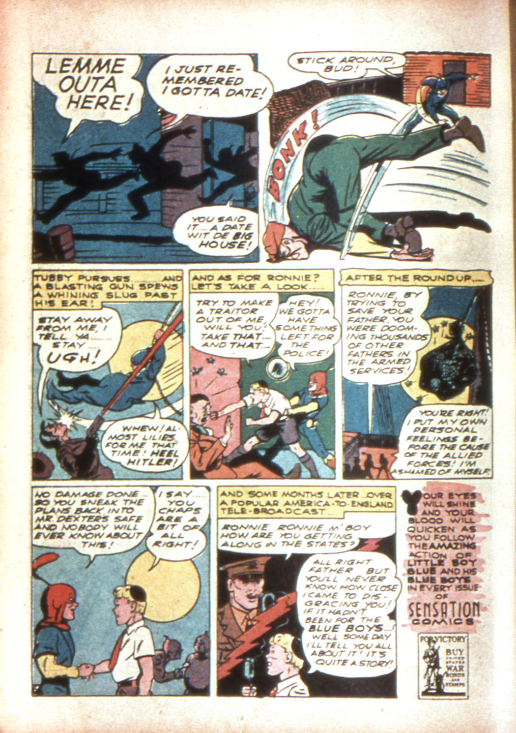 Read online Sensation (Mystery) Comics comic -  Issue #17 - 22