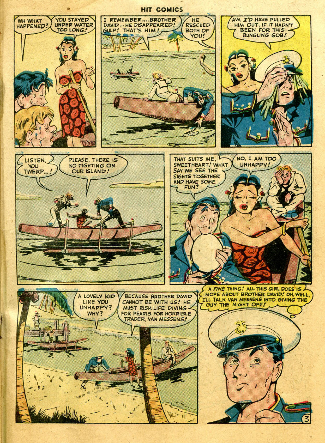 Read online Hit Comics comic -  Issue #44 - 47