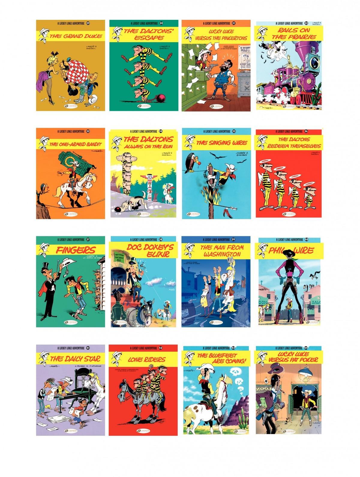 Read online A Lucky Luke Adventure comic -  Issue #50 - 47
