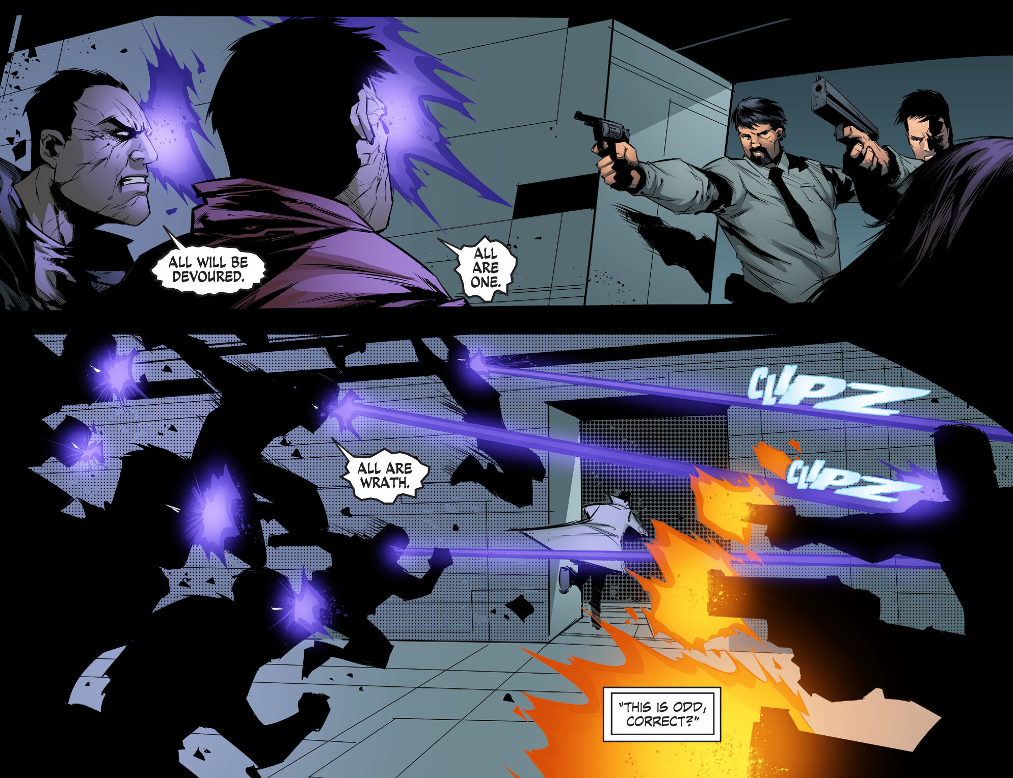 Read online Smallville: Chaos [II] comic -  Issue #5 - 4