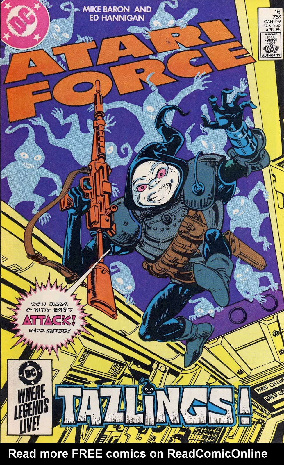 Atari Force (1984) issue 16 - Page 1