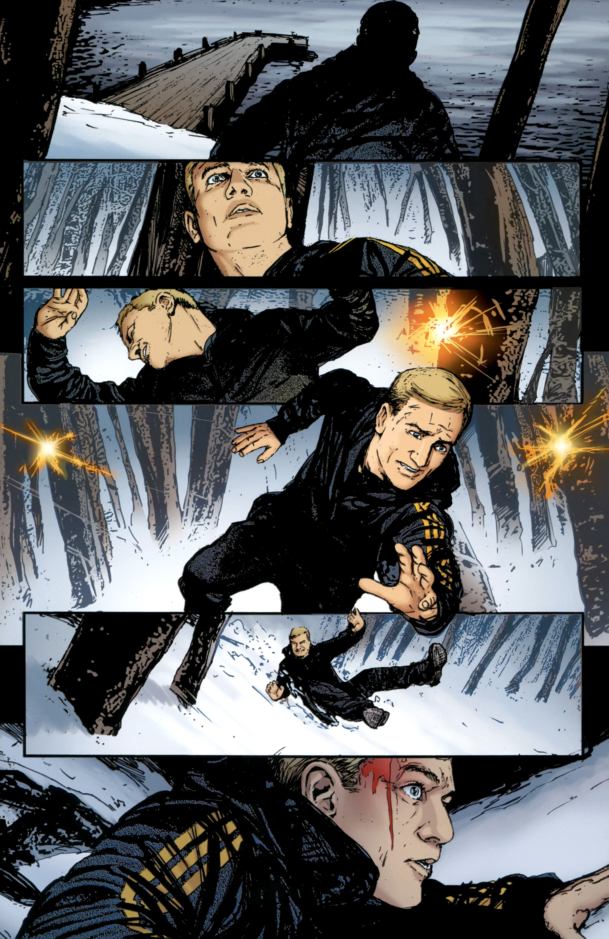 Read online The Girl With the Dragon Tattoo comic -  Issue # TPB 2 - 71