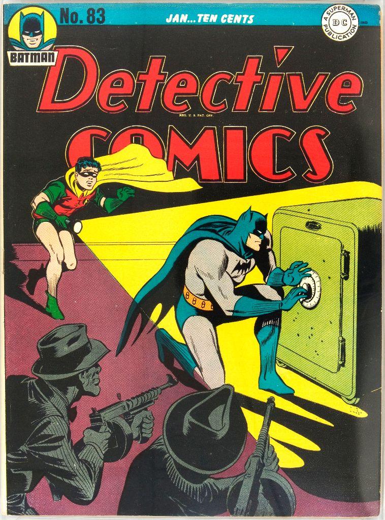 Detective Comics (1937) 83 Page 1