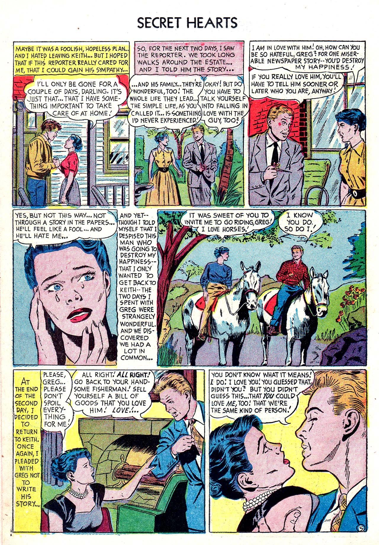 Read online Secret Hearts comic -  Issue #20 - 14