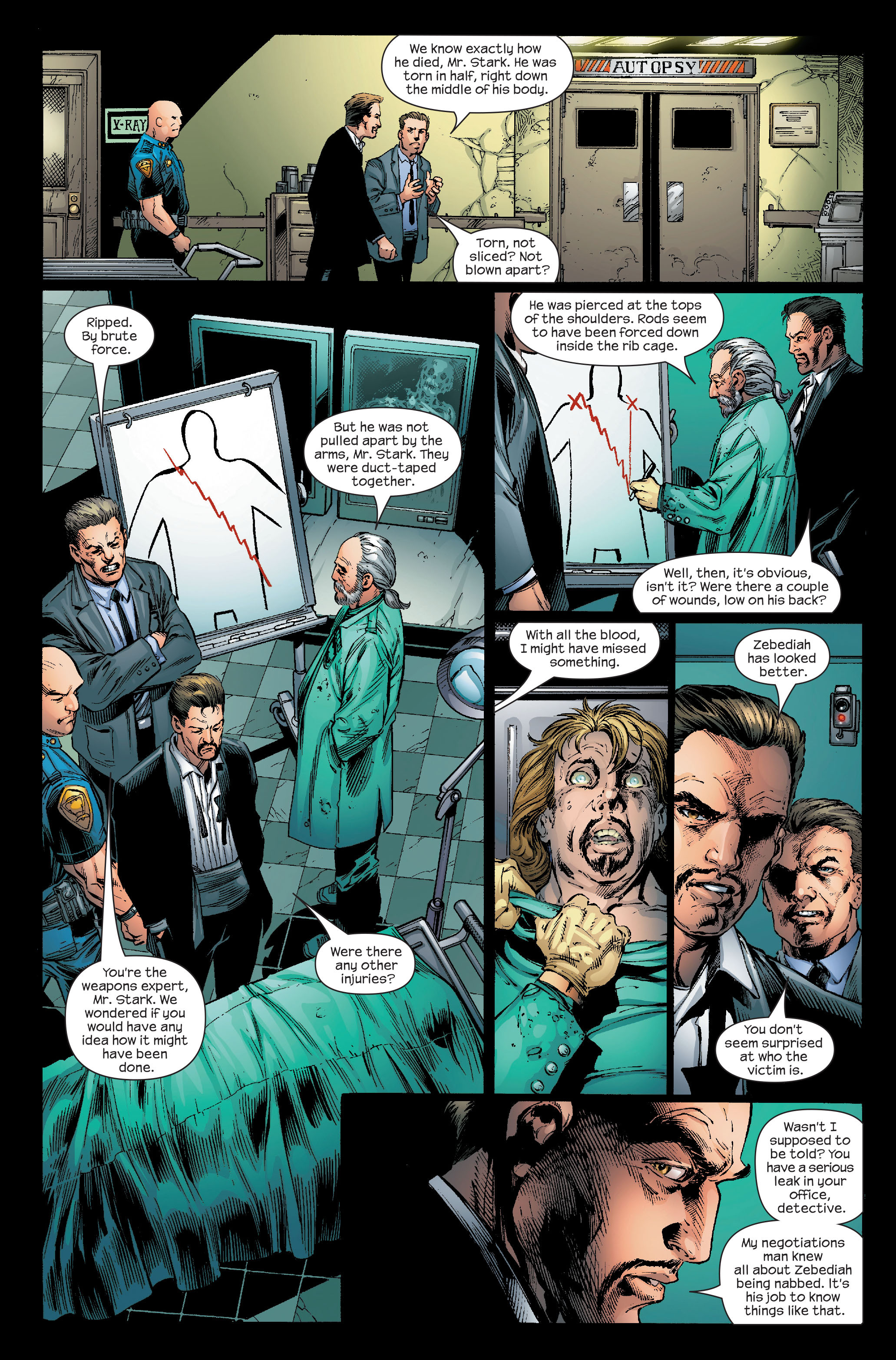 Read online Ultimate Iron Man (2005) comic -  Issue #5 - 12
