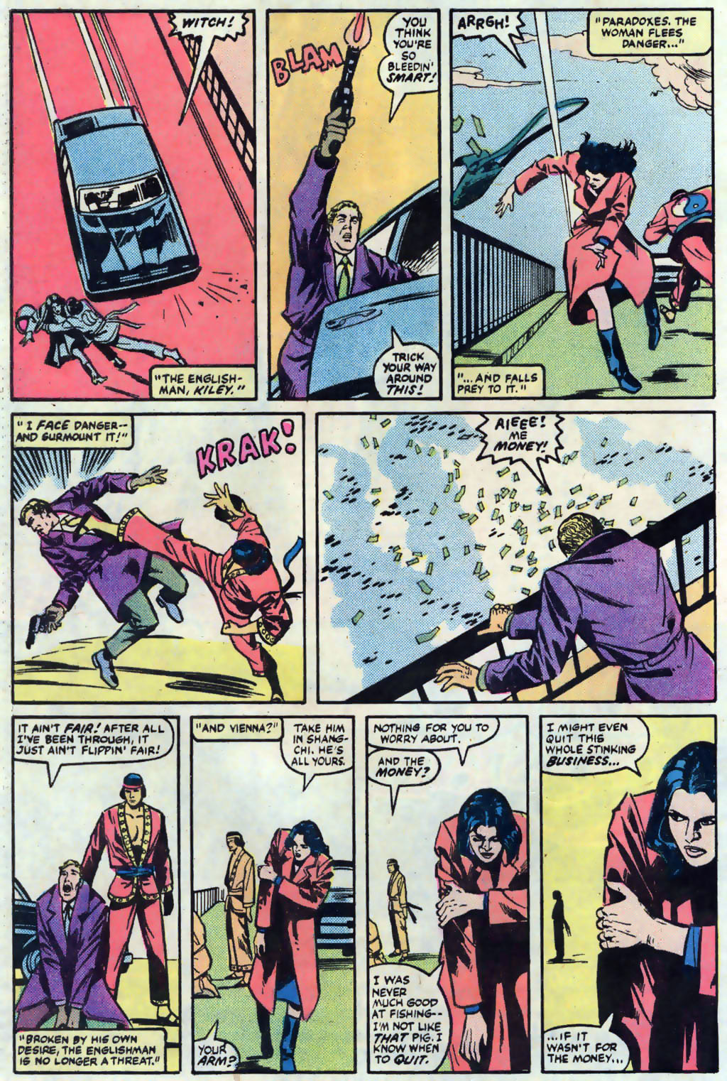 Read online Master of Kung Fu (1974) comic -  Issue #121 - 23