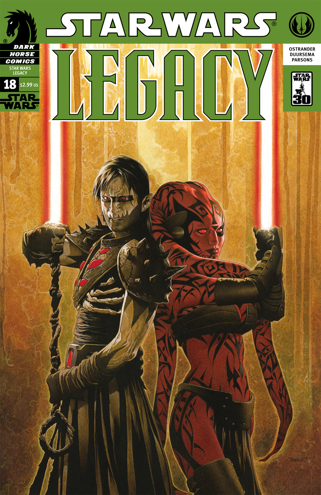 Star Wars: Legacy (2006) issue 18 - Page 1
