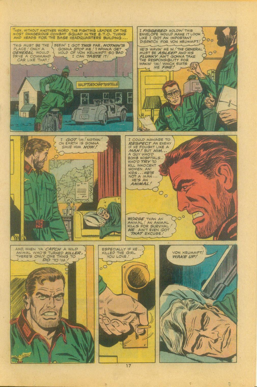 Read online Sgt. Fury comic -  Issue #121 - 19