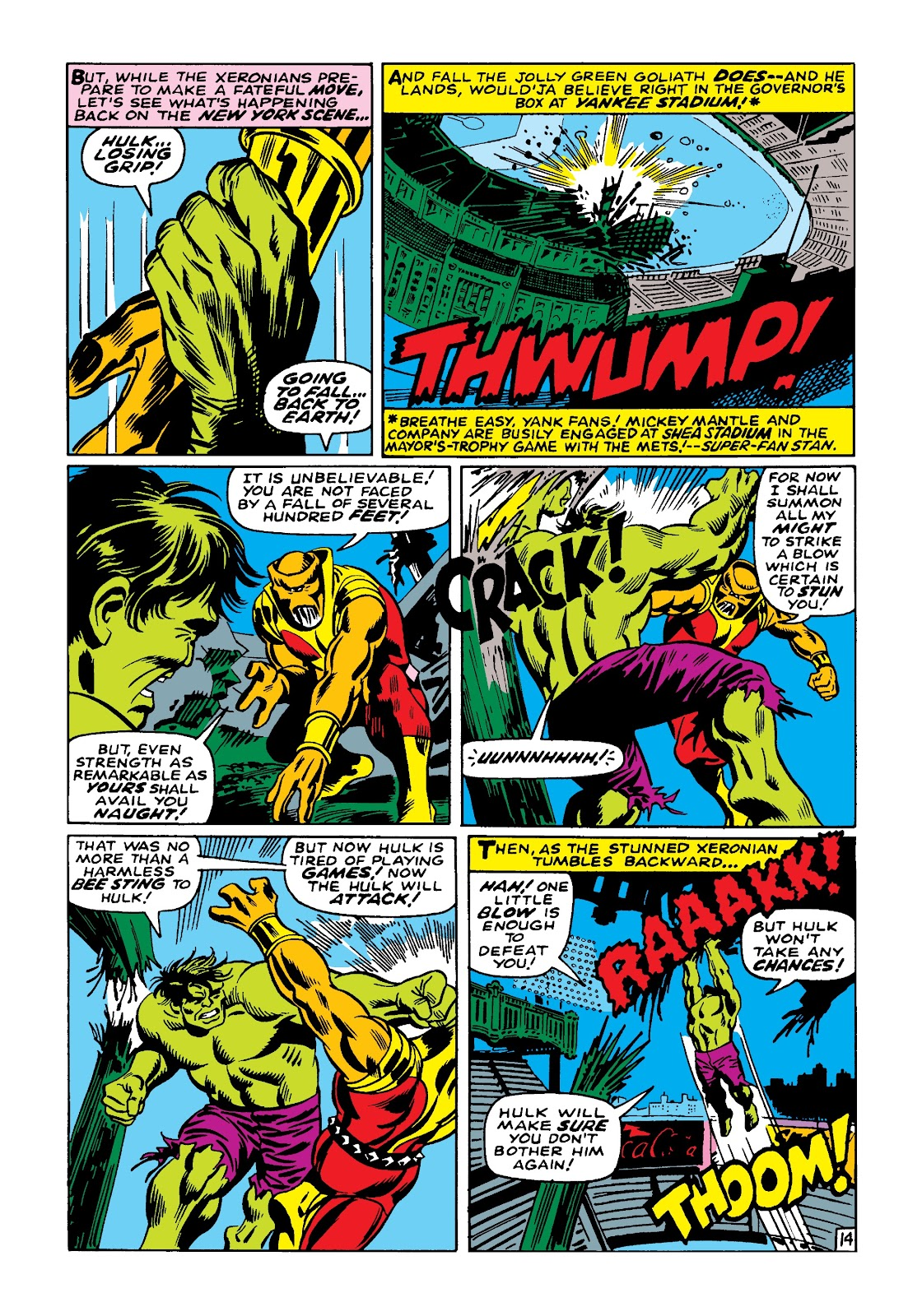 Read online Marvel Masterworks: The Incredible Hulk comic -  Issue # TPB 4 (Part 1) - 21