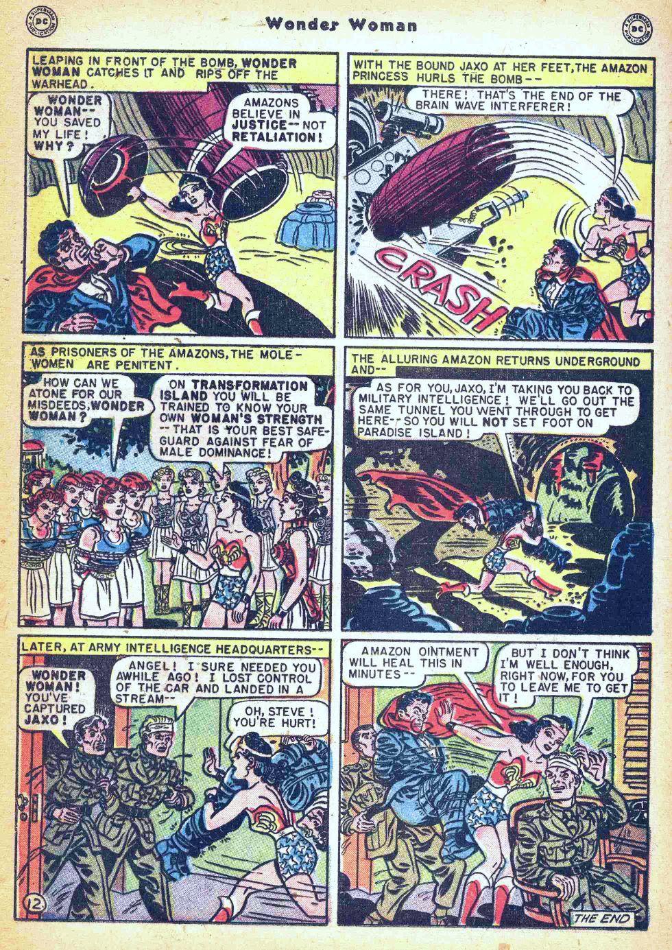 Read online Wonder Woman (1942) comic -  Issue #35 - 28