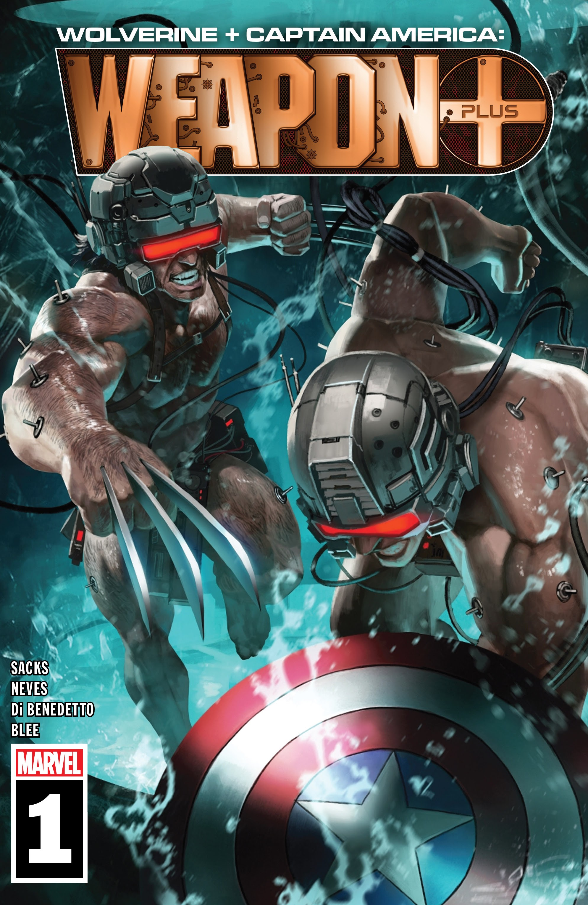 Wolverine & Captain America: Weapon Plus Full Page 1