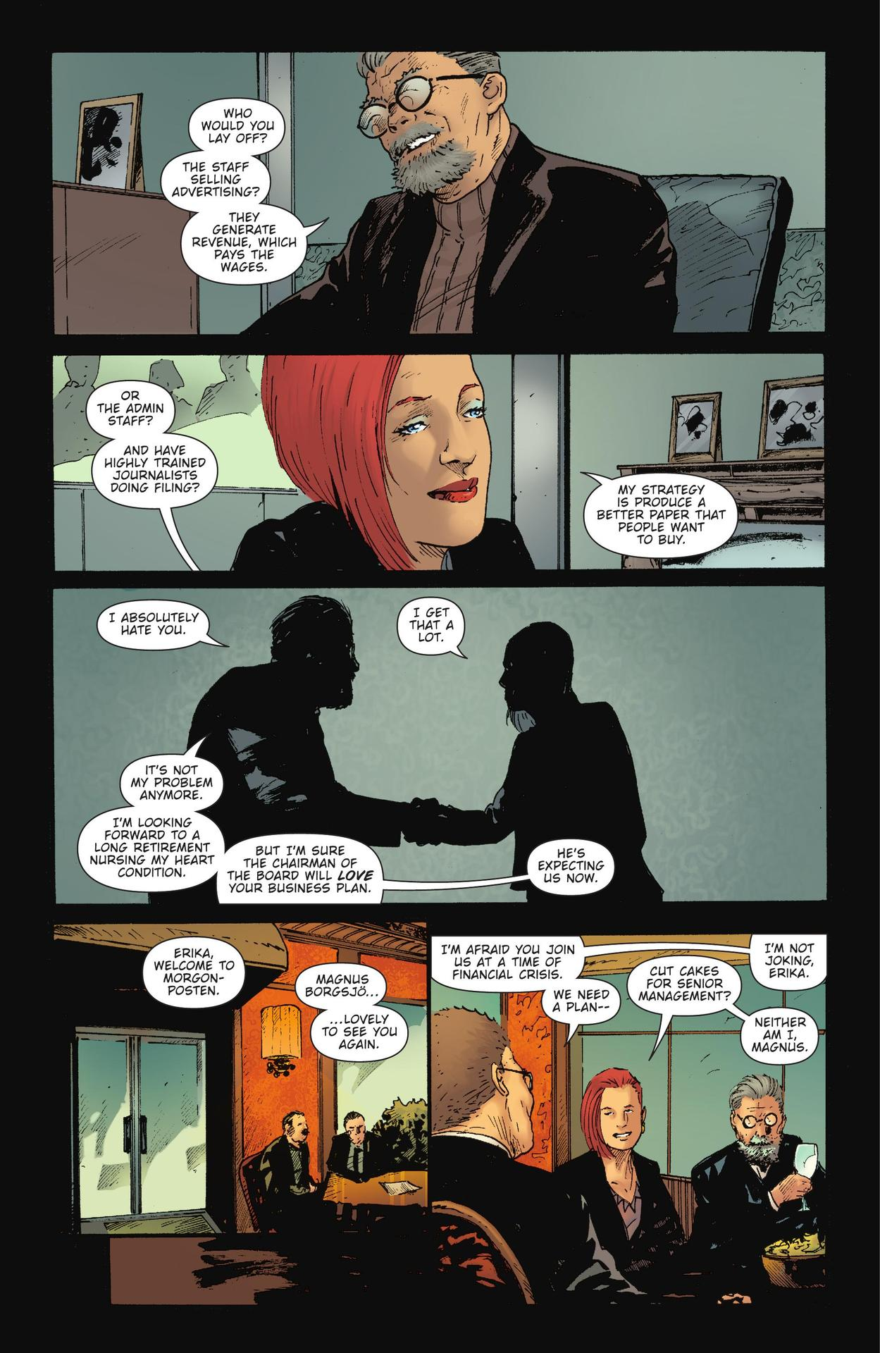 Read online The Girl Who Kicked The Hornet's Nest comic -  Issue # TPB - 122
