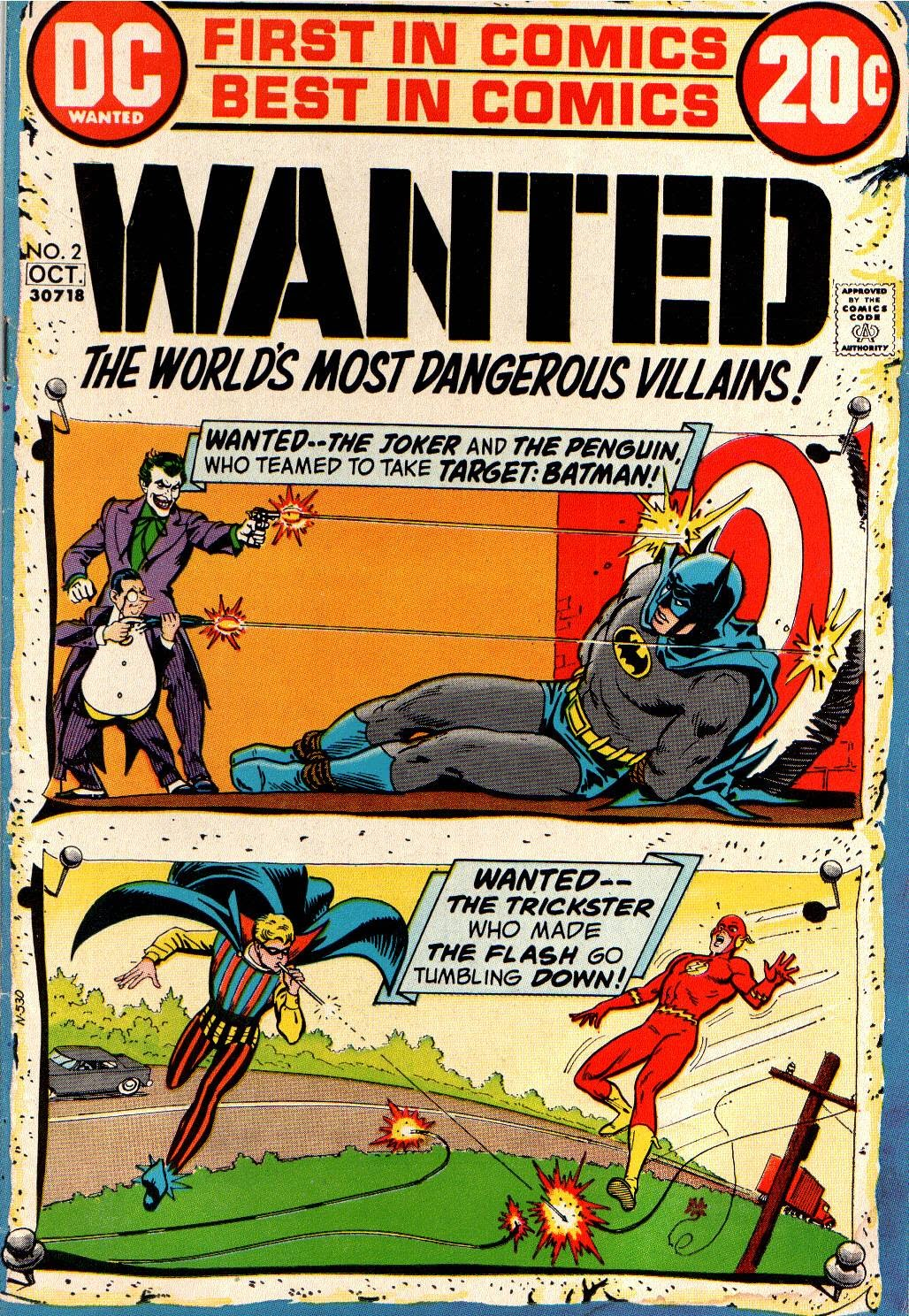 Wanted, the World's Most Dangerous Villains issue 2 - Page 1