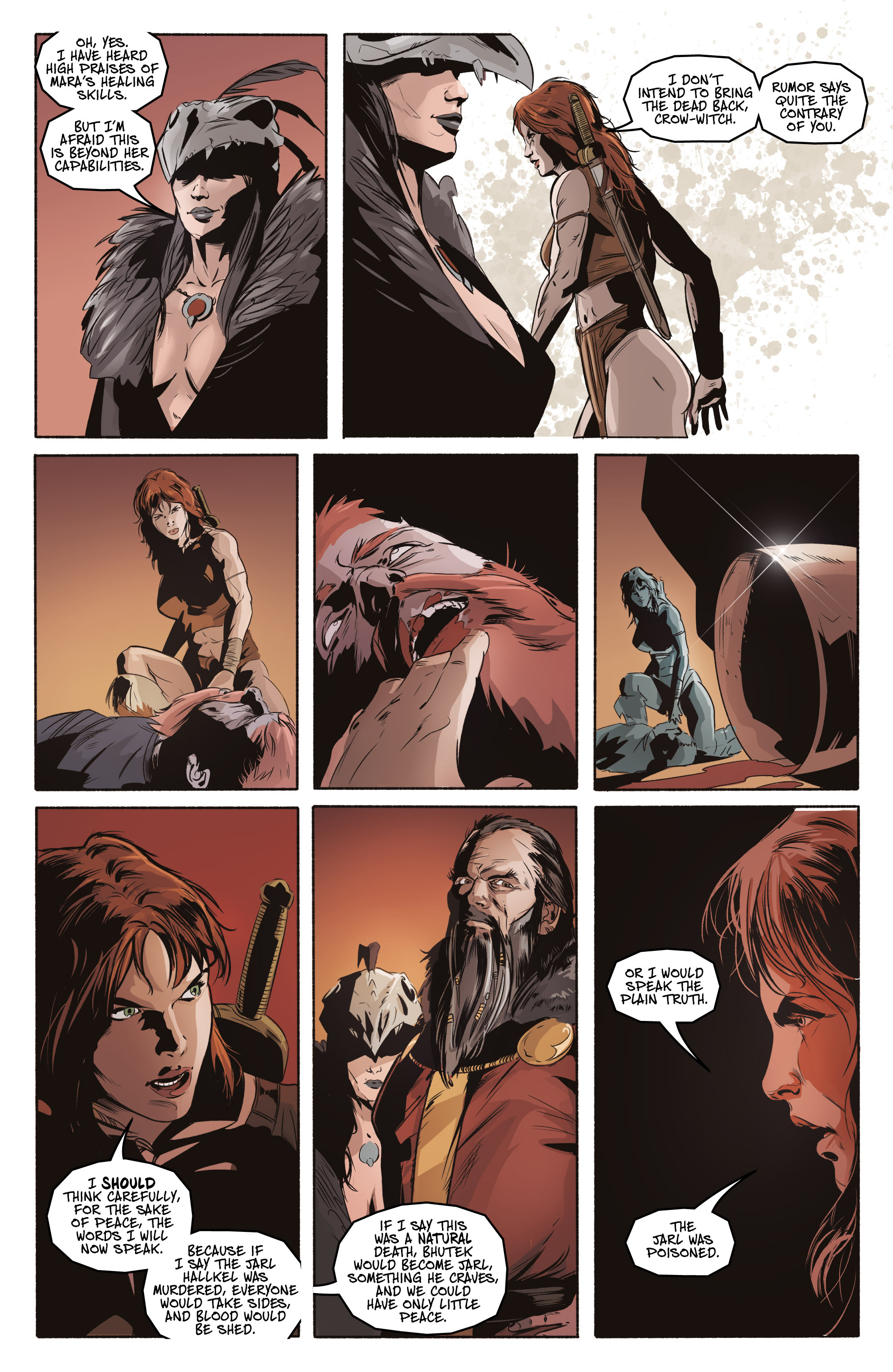Read online Ghost Wolf comic -  Issue #3 - 9
