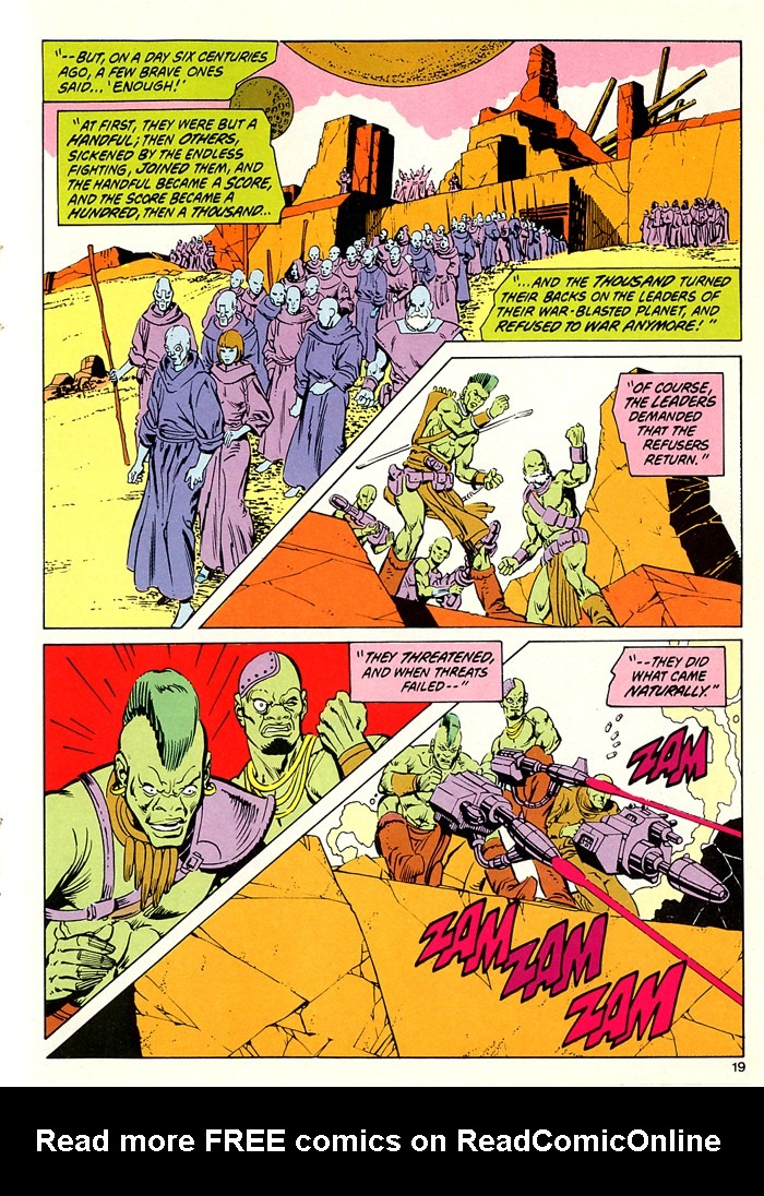 Read online Atari Force (1982) comic -  Issue #5 - 21