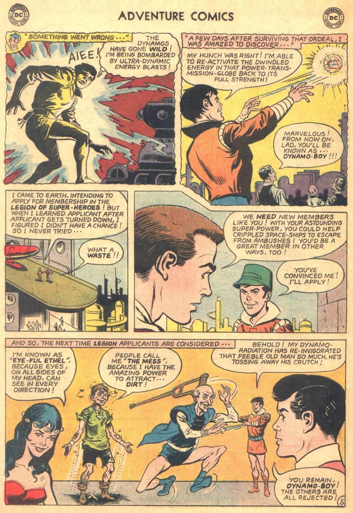 Read online Adventure Comics (1938) comic -  Issue #330 - 6