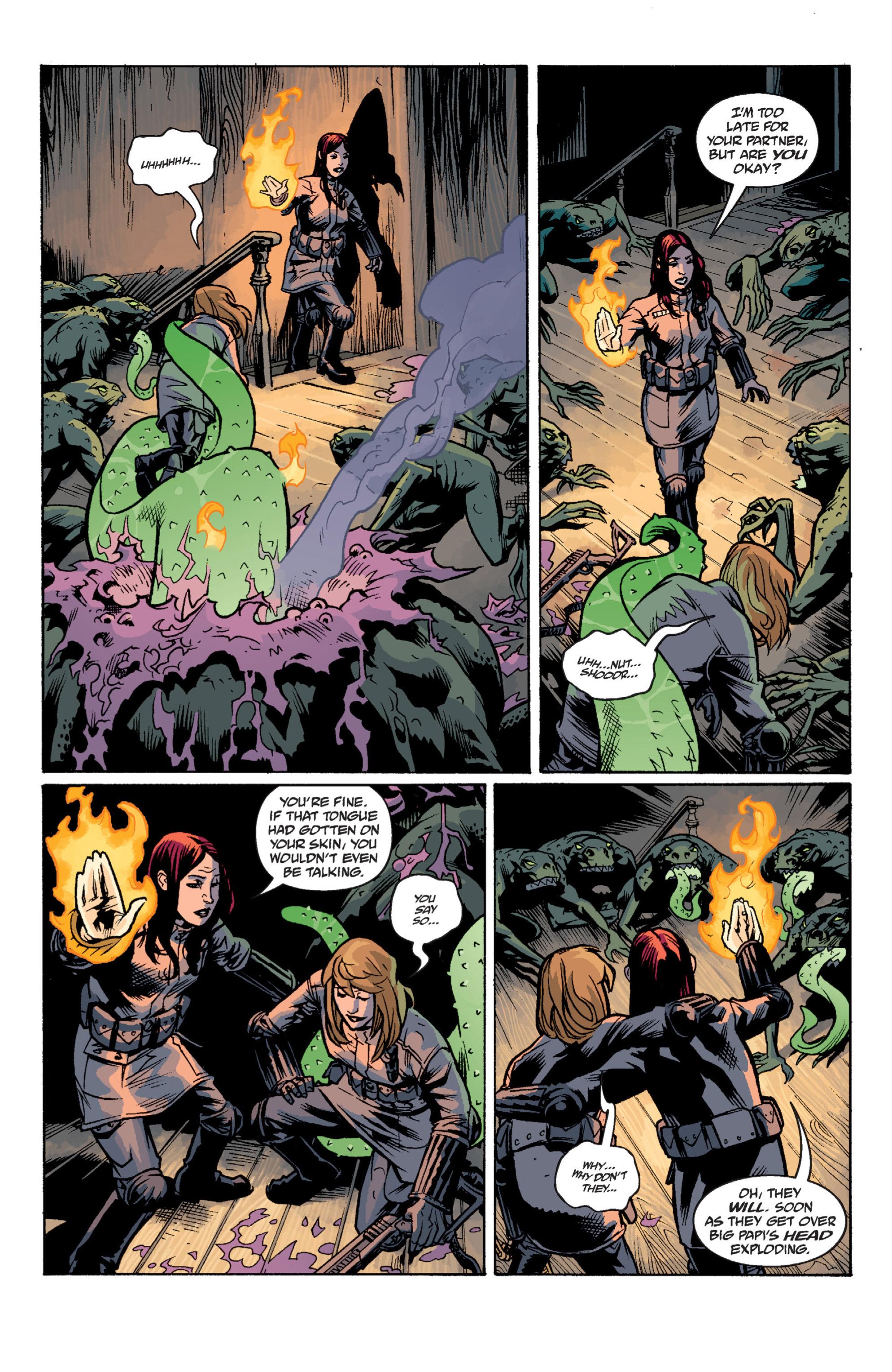 Read online B.P.R.D. (2003) comic -  Issue # TPB 12 - 123