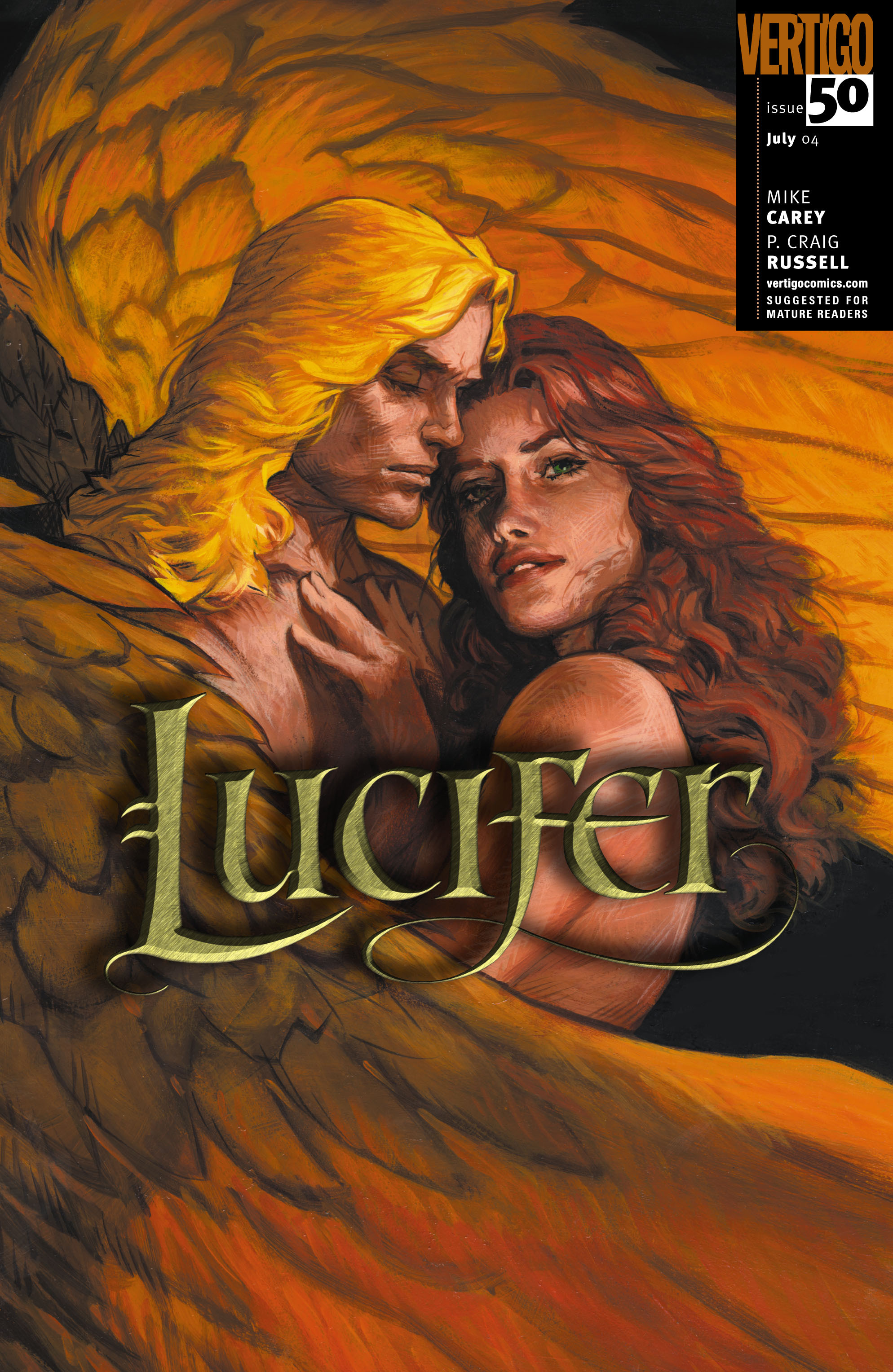 Lucifer (2000) issue 50 - Page 1