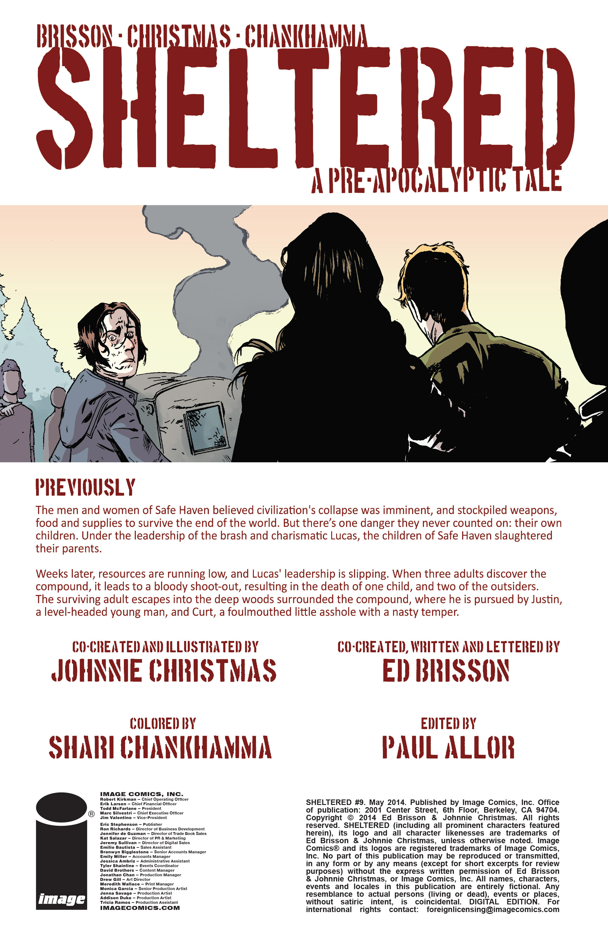 Read online Sheltered comic -  Issue #9 - 2