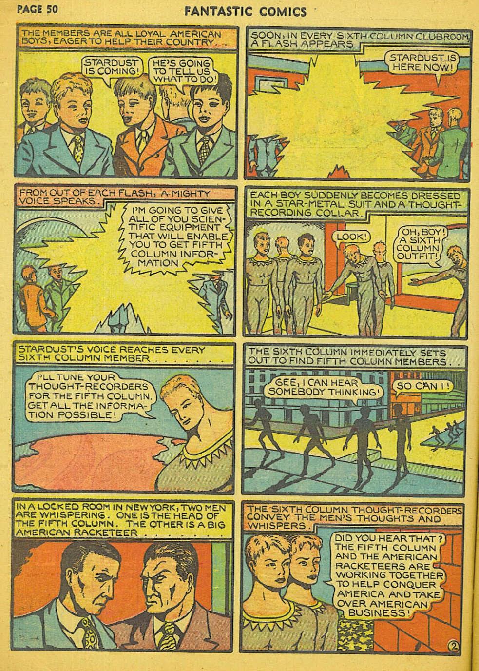 Read online Fantastic Comics comic -  Issue #15 - 45