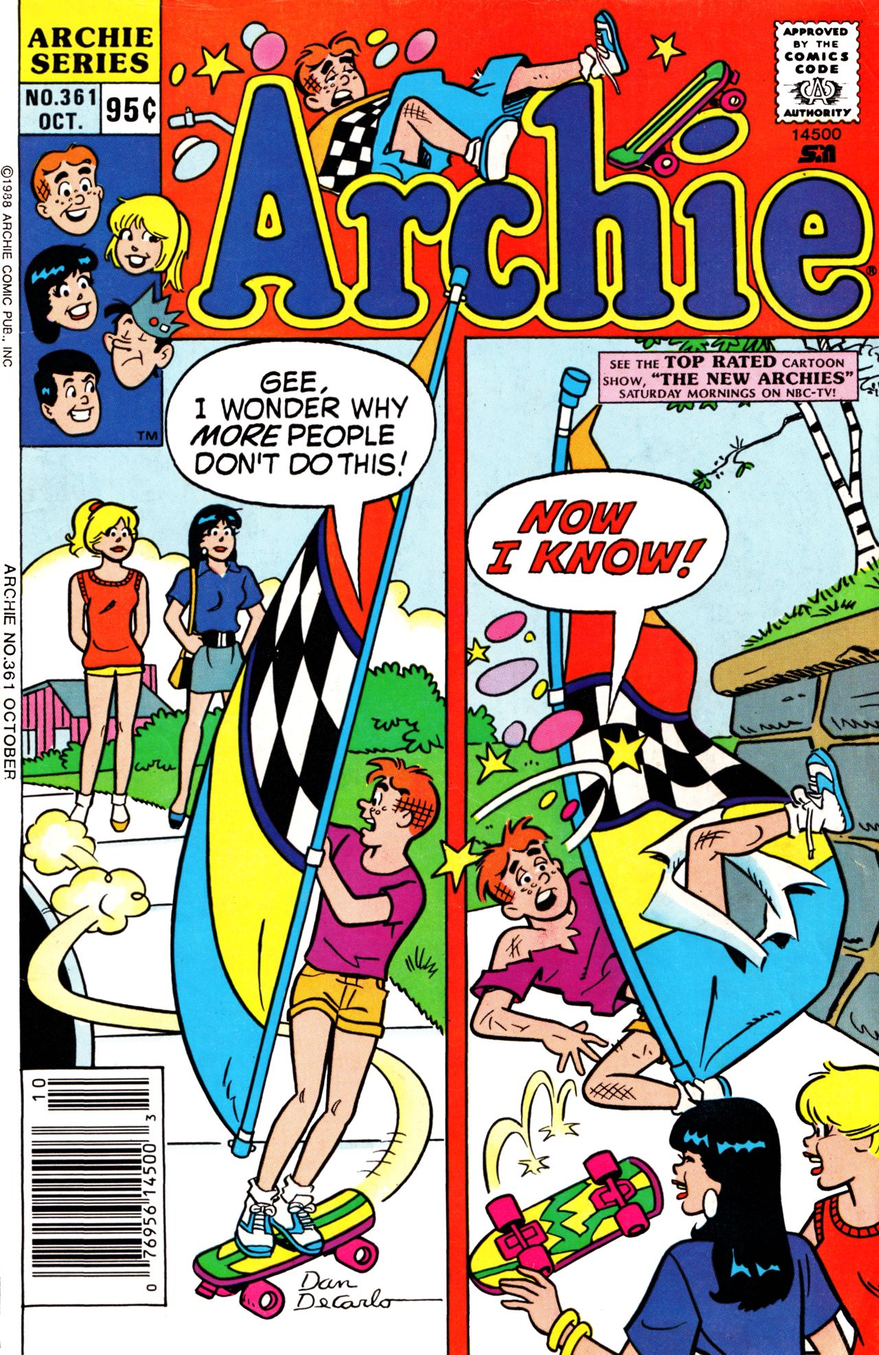 Read online Archie (1960) comic -  Issue #361 - 1