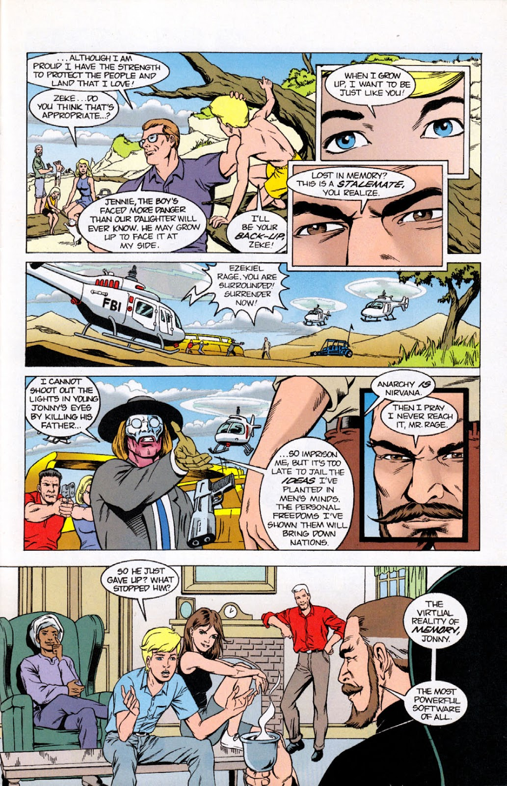 Read online The Real Adventures of Jonny Quest comic -  Issue #10 - 31