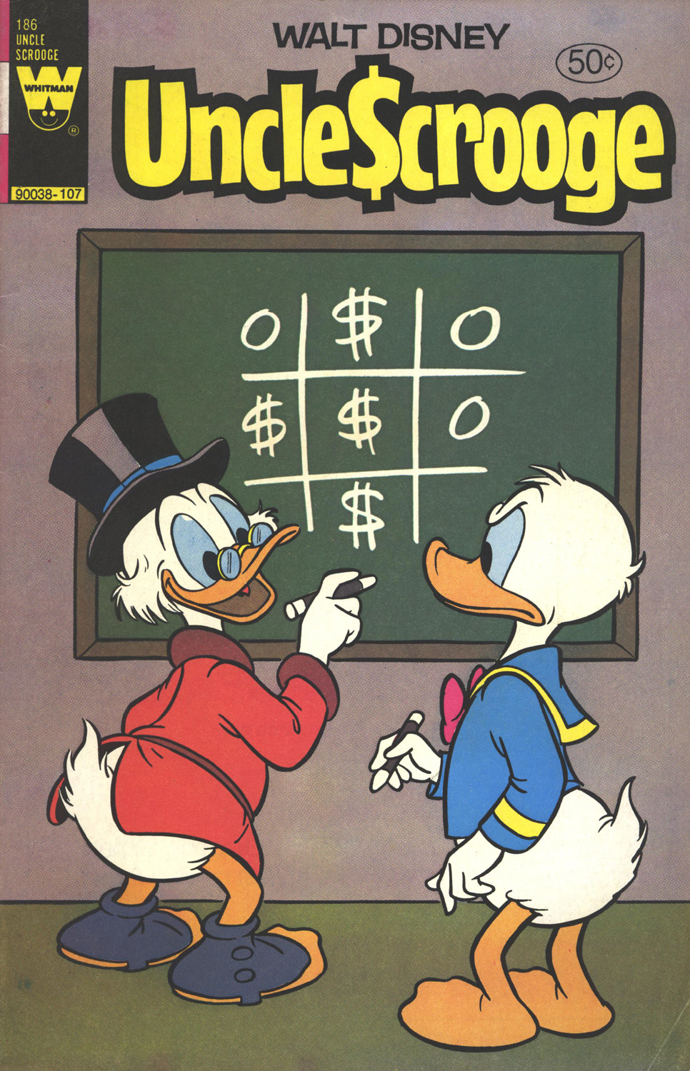 Read online Uncle Scrooge (1953) comic -  Issue #186 - 1