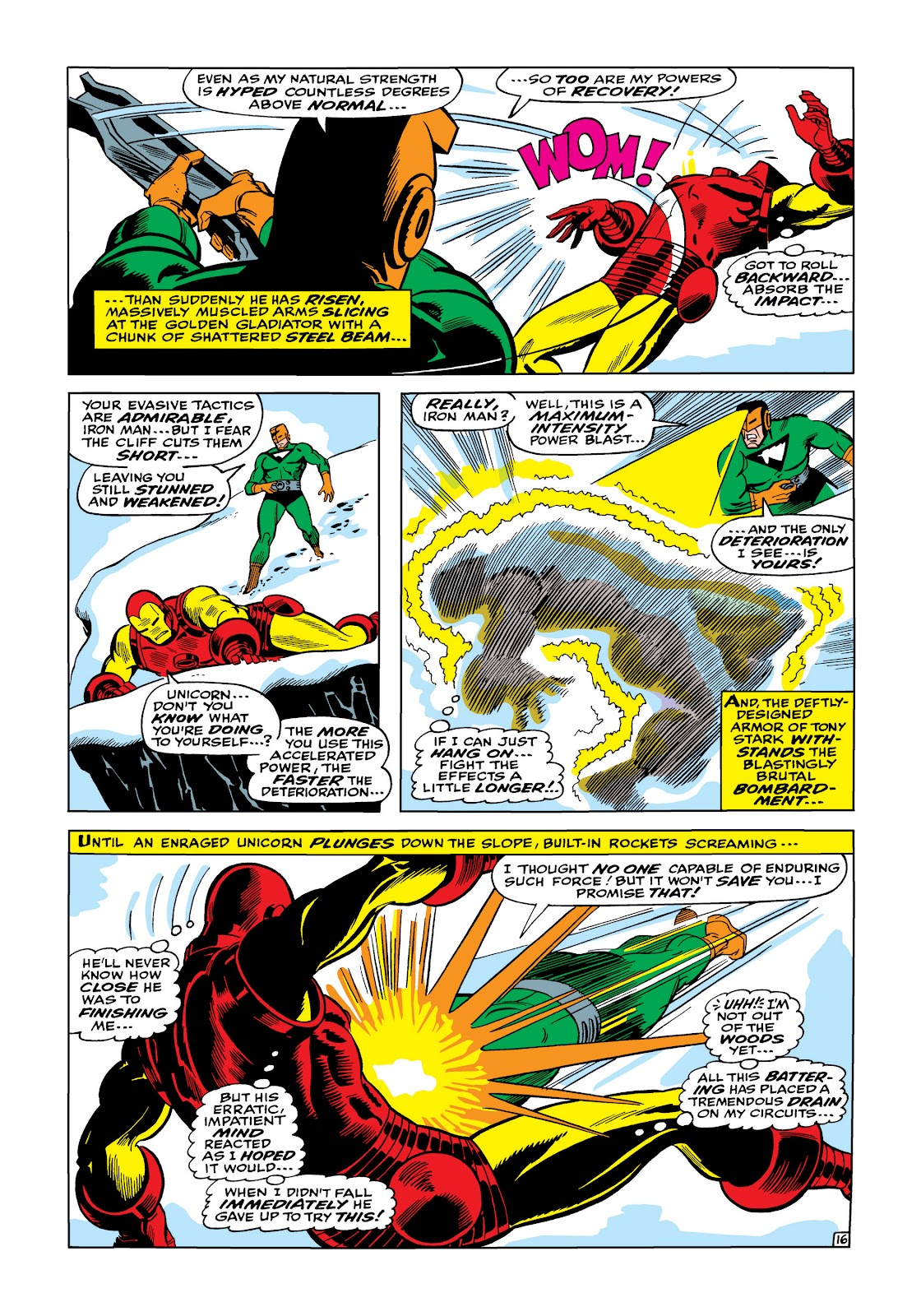 Read online Marvel Masterworks: The Invincible Iron Man comic -  Issue # TPB 5 (Part 1) - 65