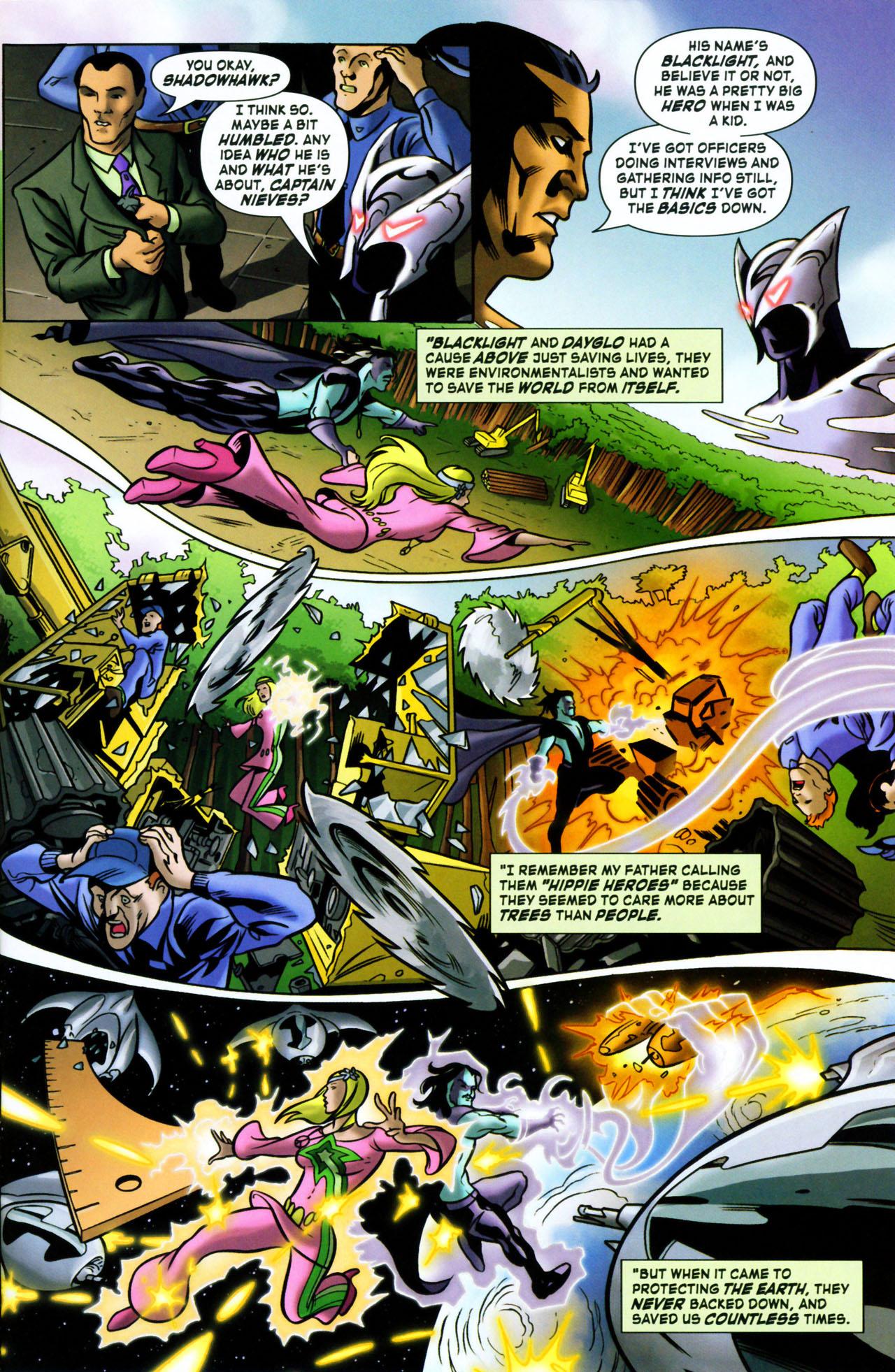 Read online ShadowHawk (2005) comic -  Issue #1 - 9