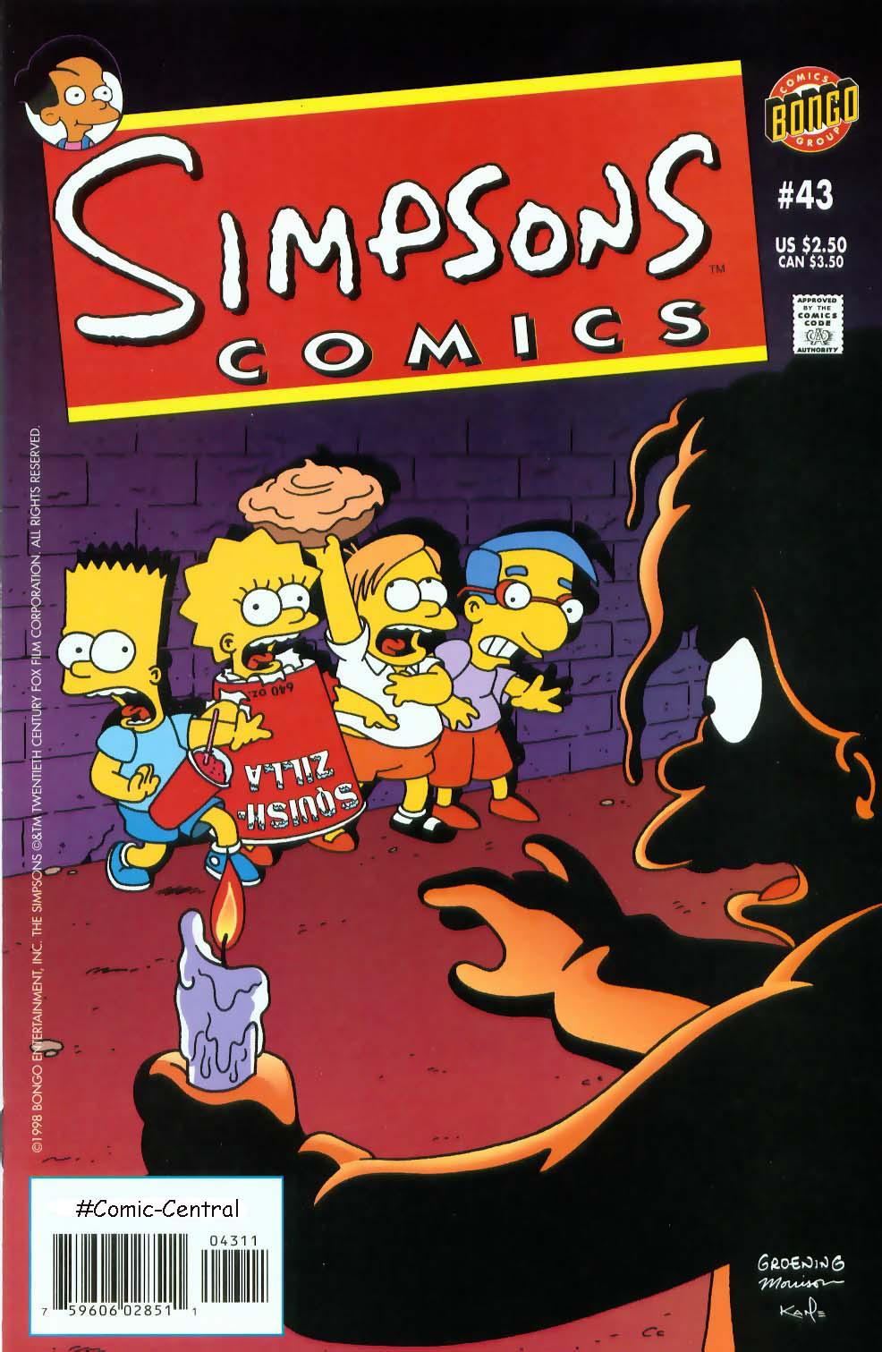 Read online Simpsons Comics comic -  Issue #43 - 1