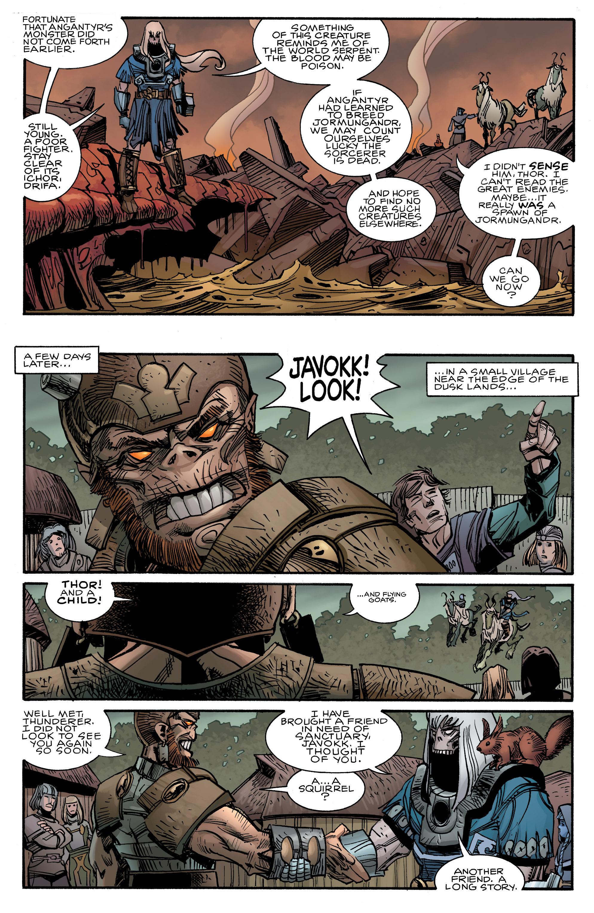 Read online Ragnarok comic -  Issue #12 - 18
