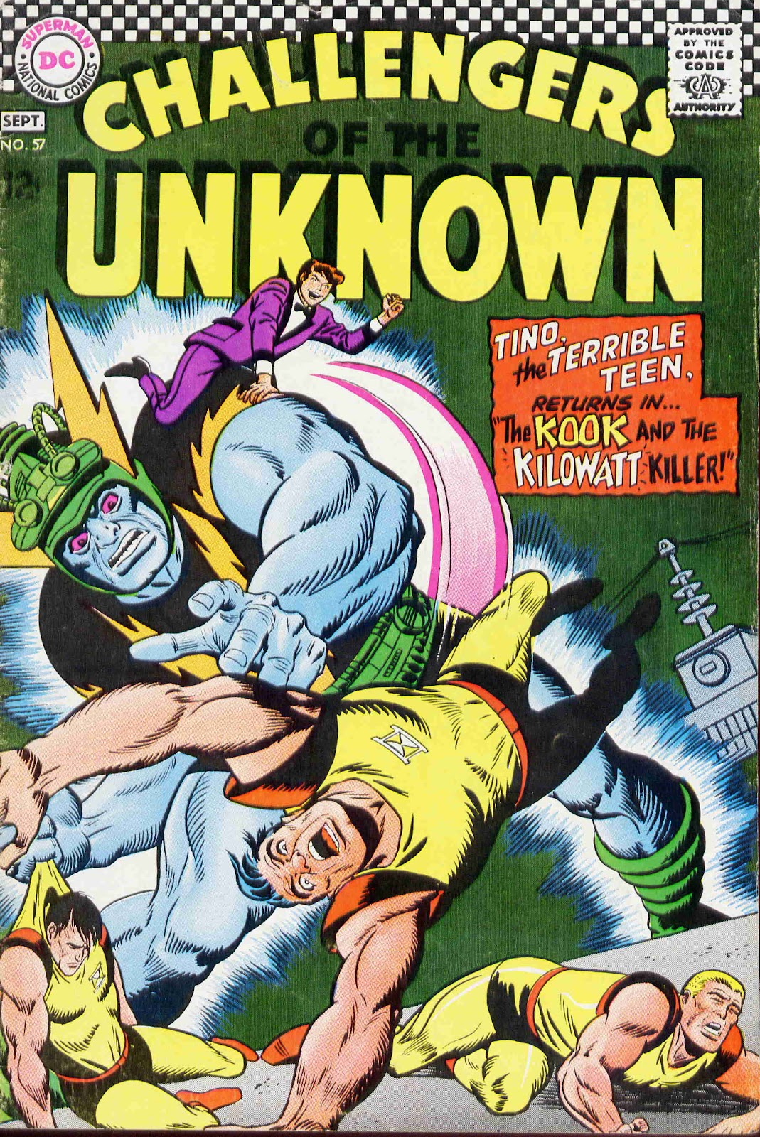 Challengers of the Unknown (1958) issue 57 - Page 1