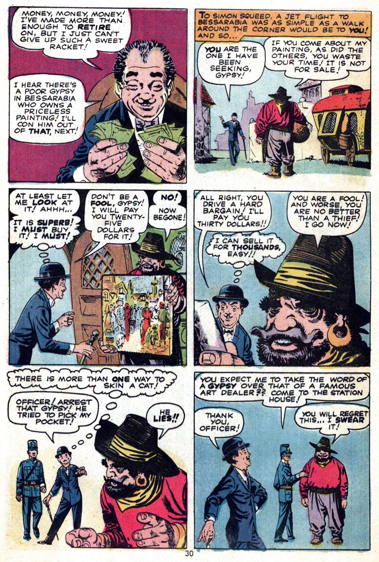 Read online Amazing Adventures (1970) comic -  Issue #24 - 30