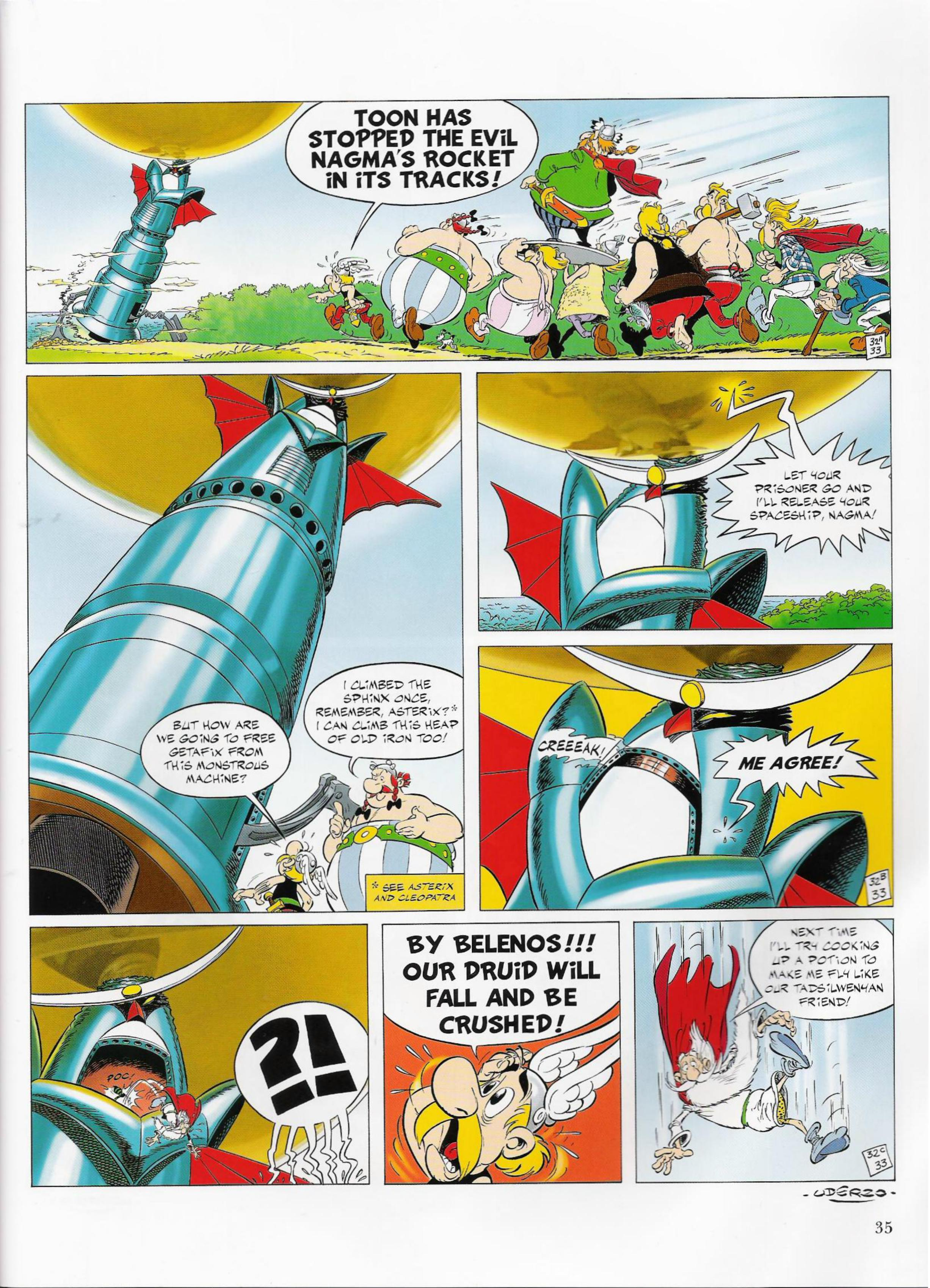 Read online Asterix comic -  Issue #33 - 35