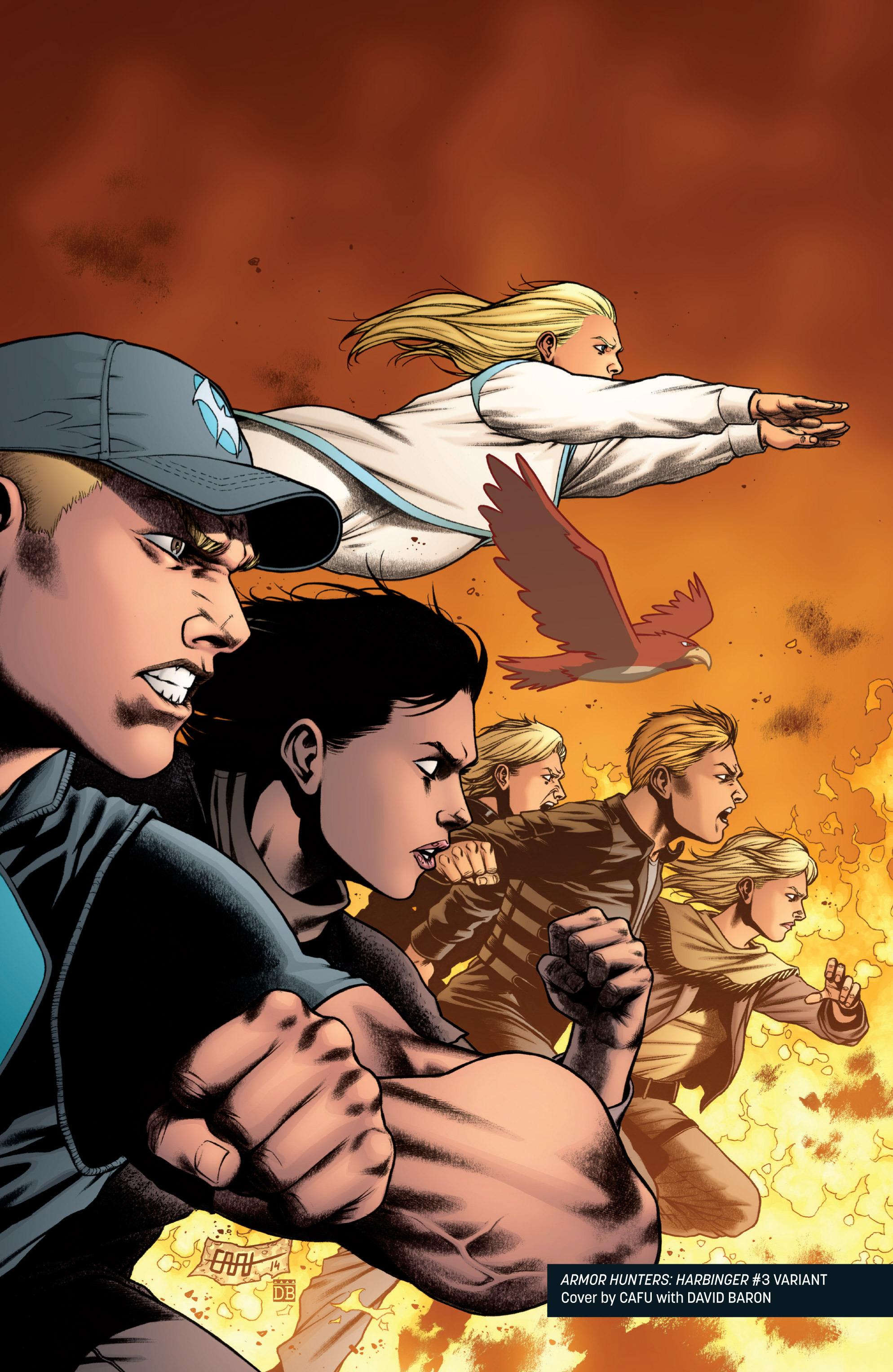 Read online Armor Hunters: Harbinger comic -  Issue # TPB - 109