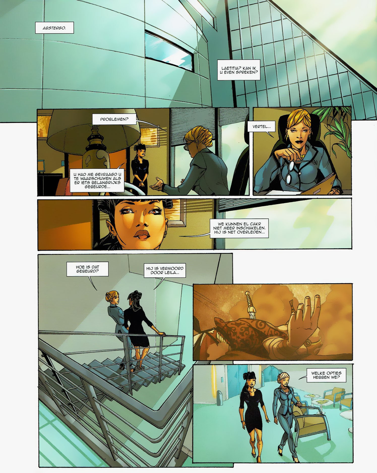 Read online Assassin's Creed (2009) comic -  Issue #6 - 33