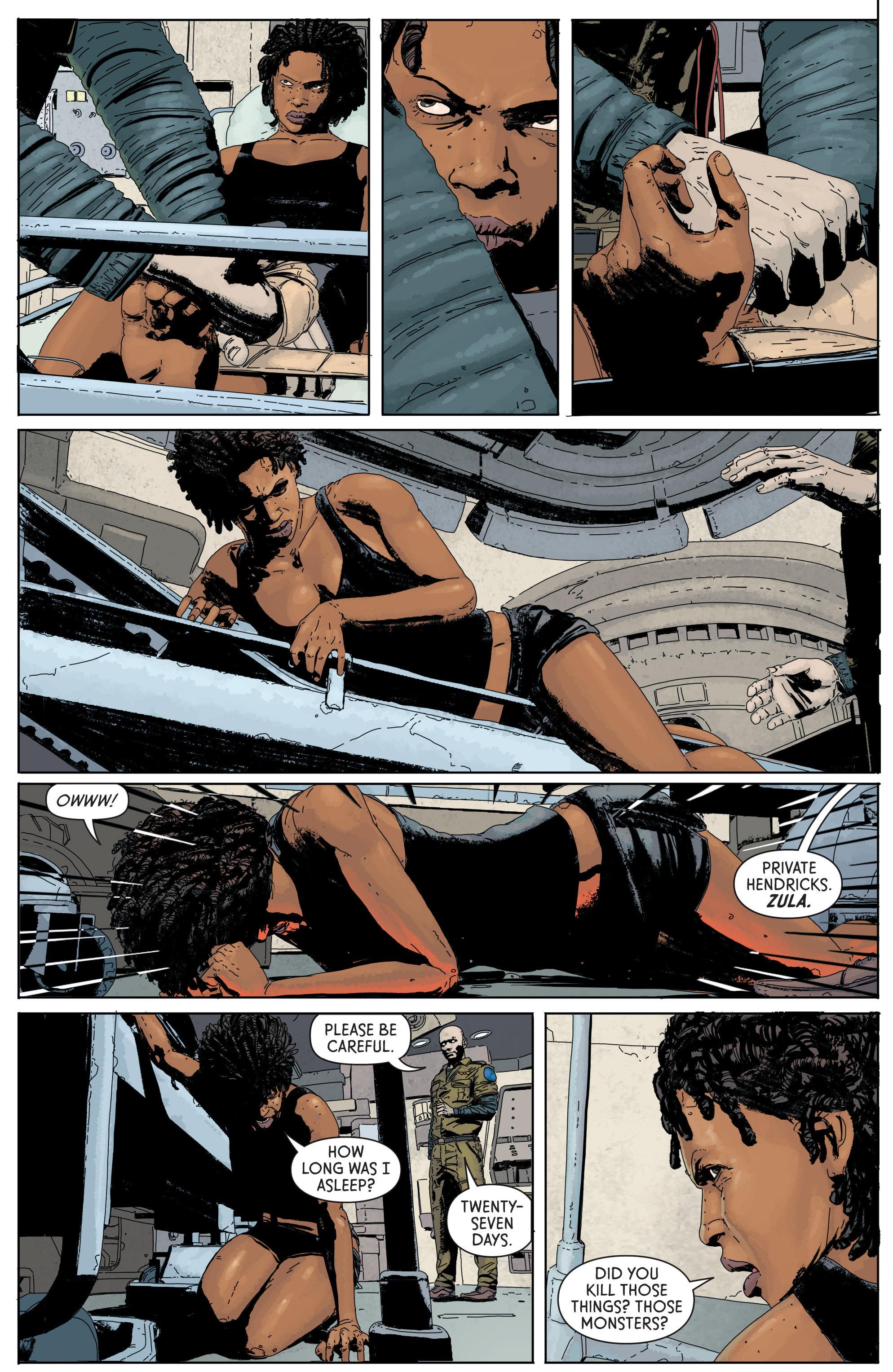 Read online Aliens: Defiance comic -  Issue #1 - 23