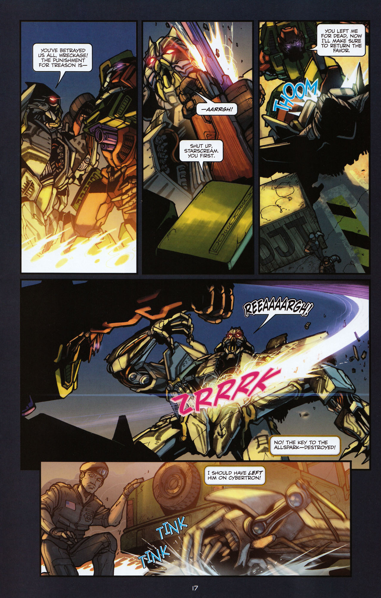 Read online Transformers: Alliance comic -  Issue #2 - 20