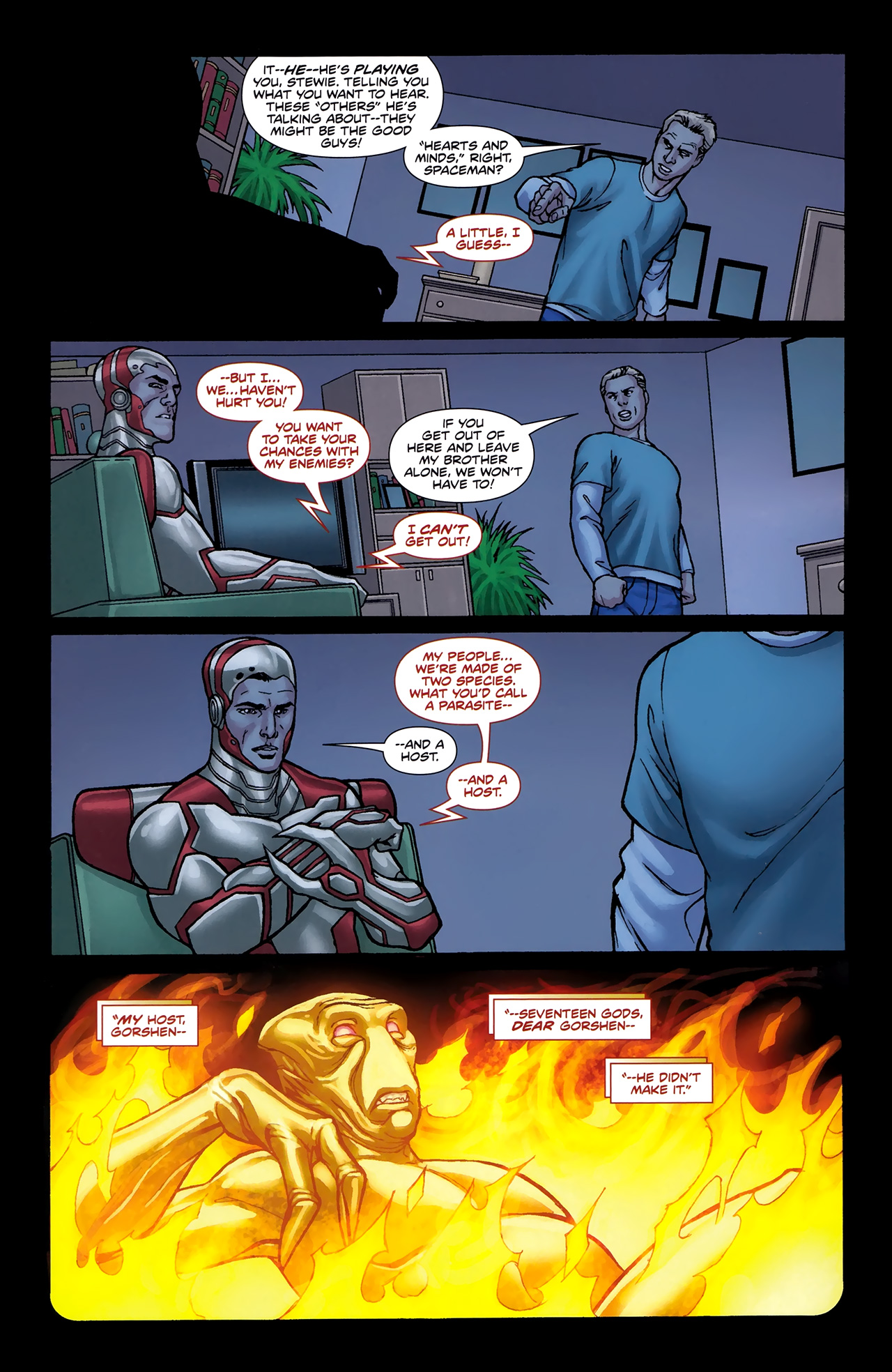 Read online Soldier Zero comic -  Issue #2 - 14
