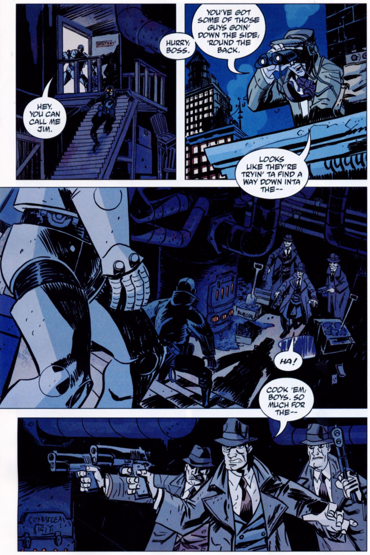 Read online Lobster Johnson: The Iron Prometheus comic -  Issue #1 - 13