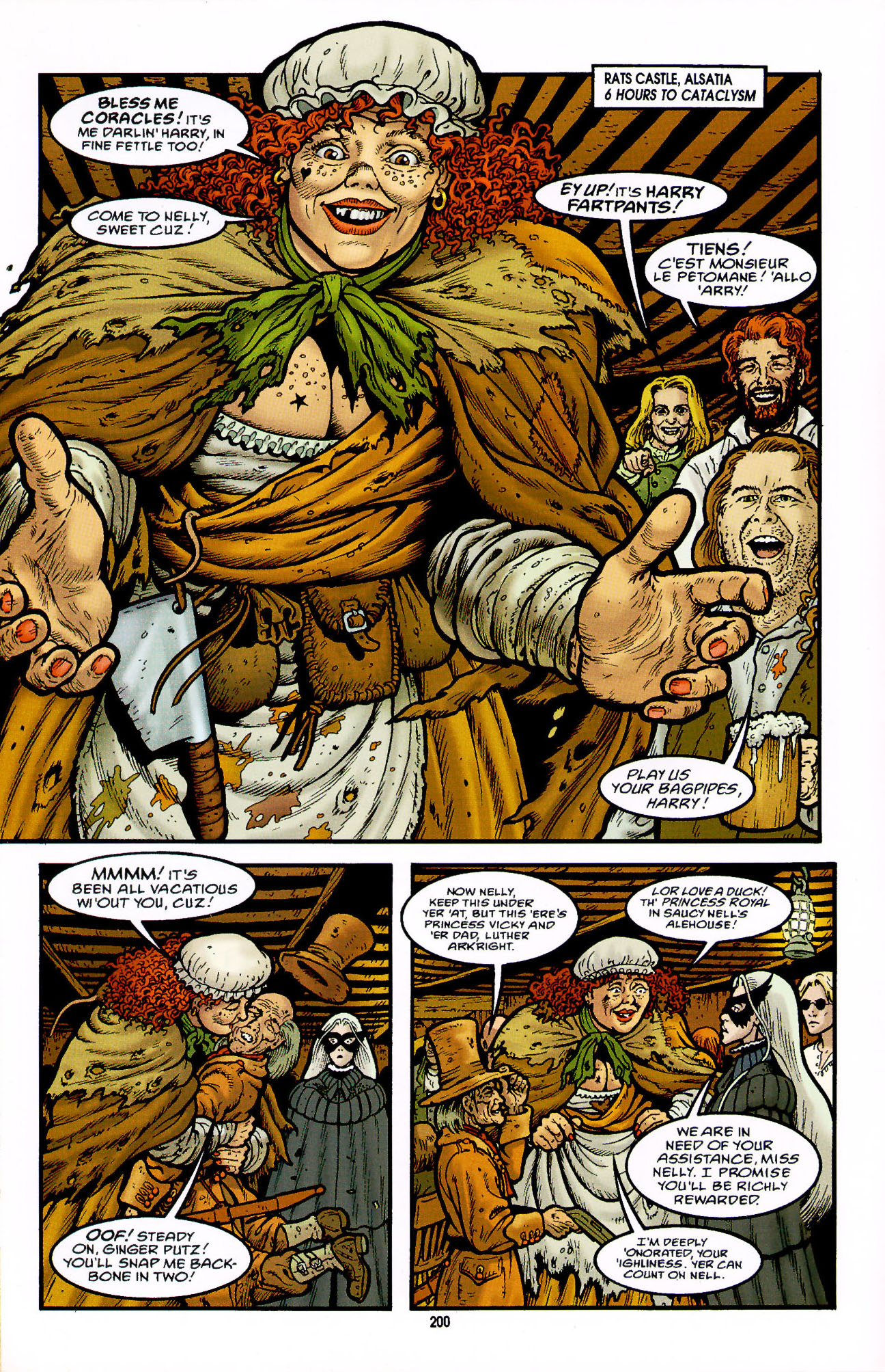 Read online Heart of Empire comic -  Issue #7 - 6