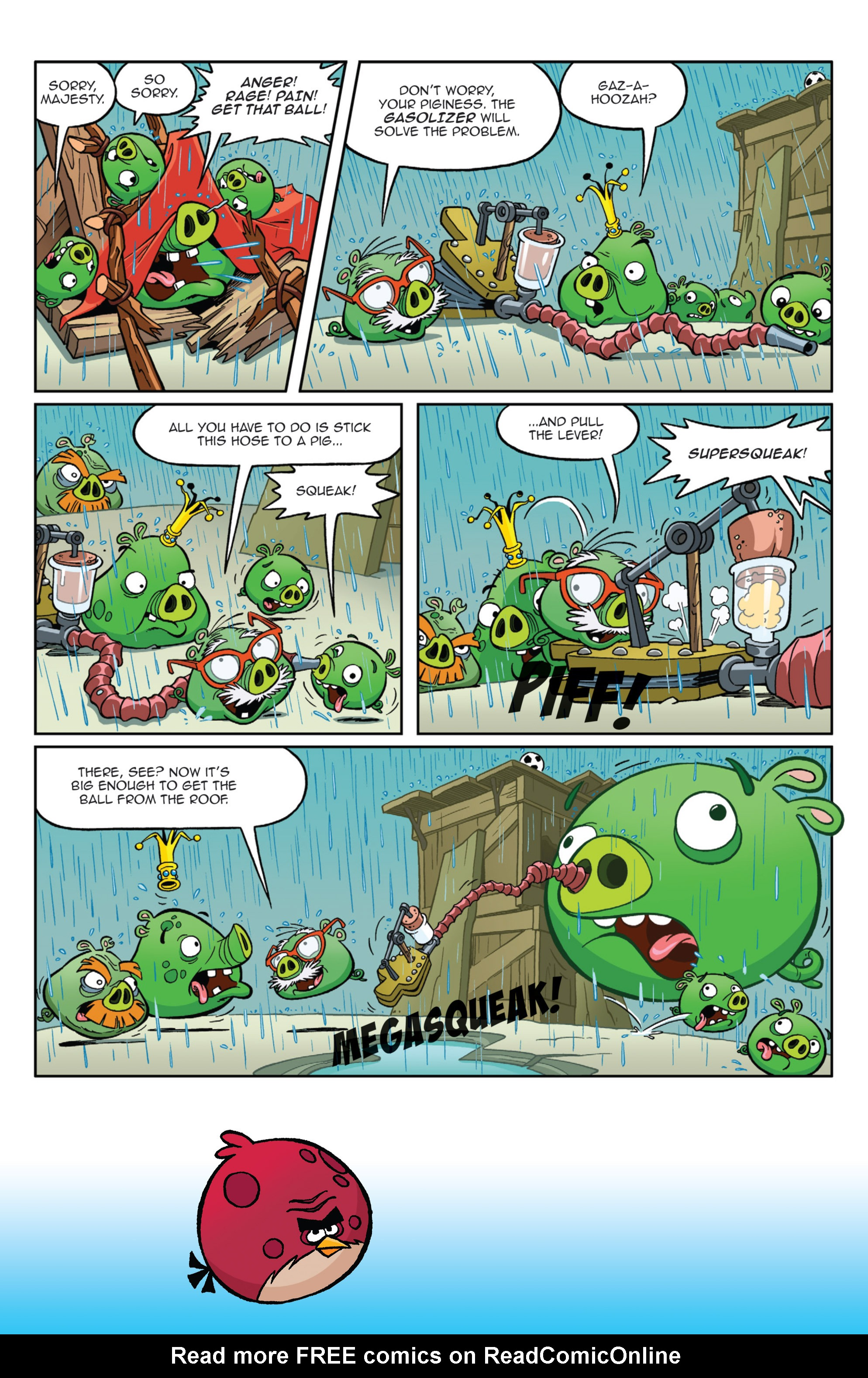 Read online Angry Birds Comics (2014) comic -  Issue #9 - 4